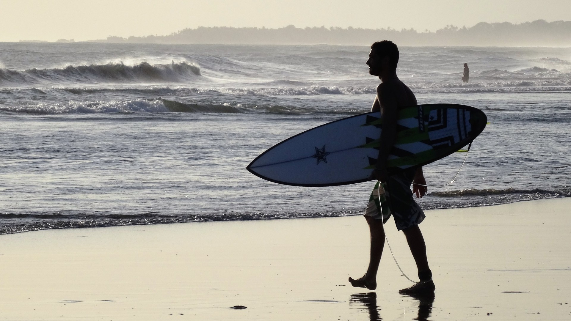 Wallpaper surfer, bali, beach, surfing