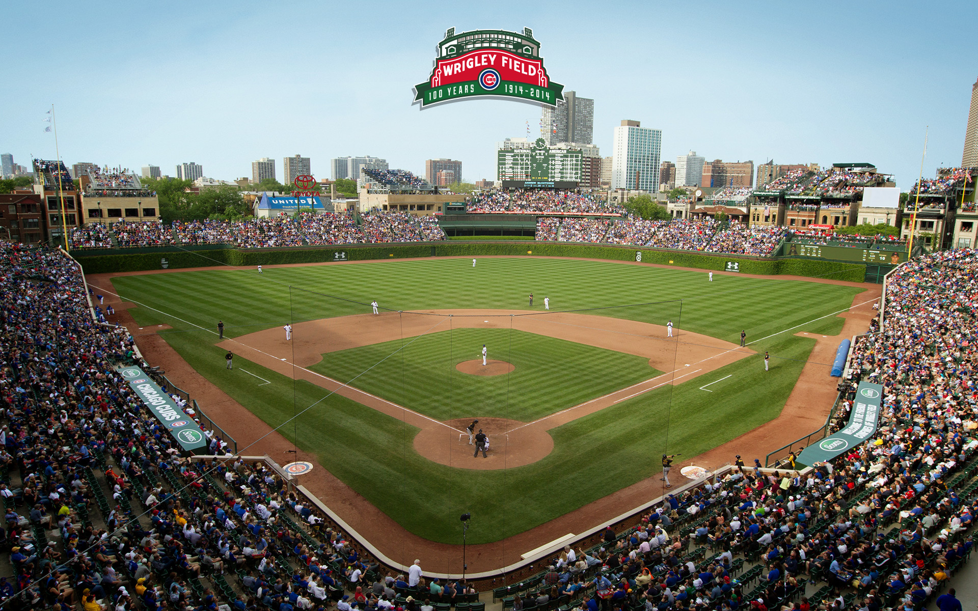 Wrigley Field 100   Chicago Cubs