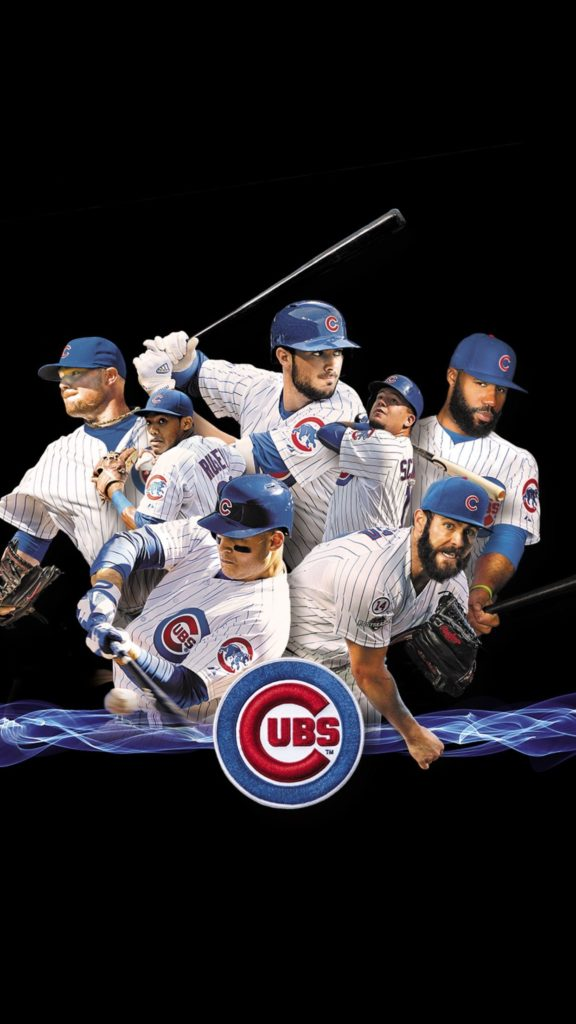 2016 Cubs on black, …