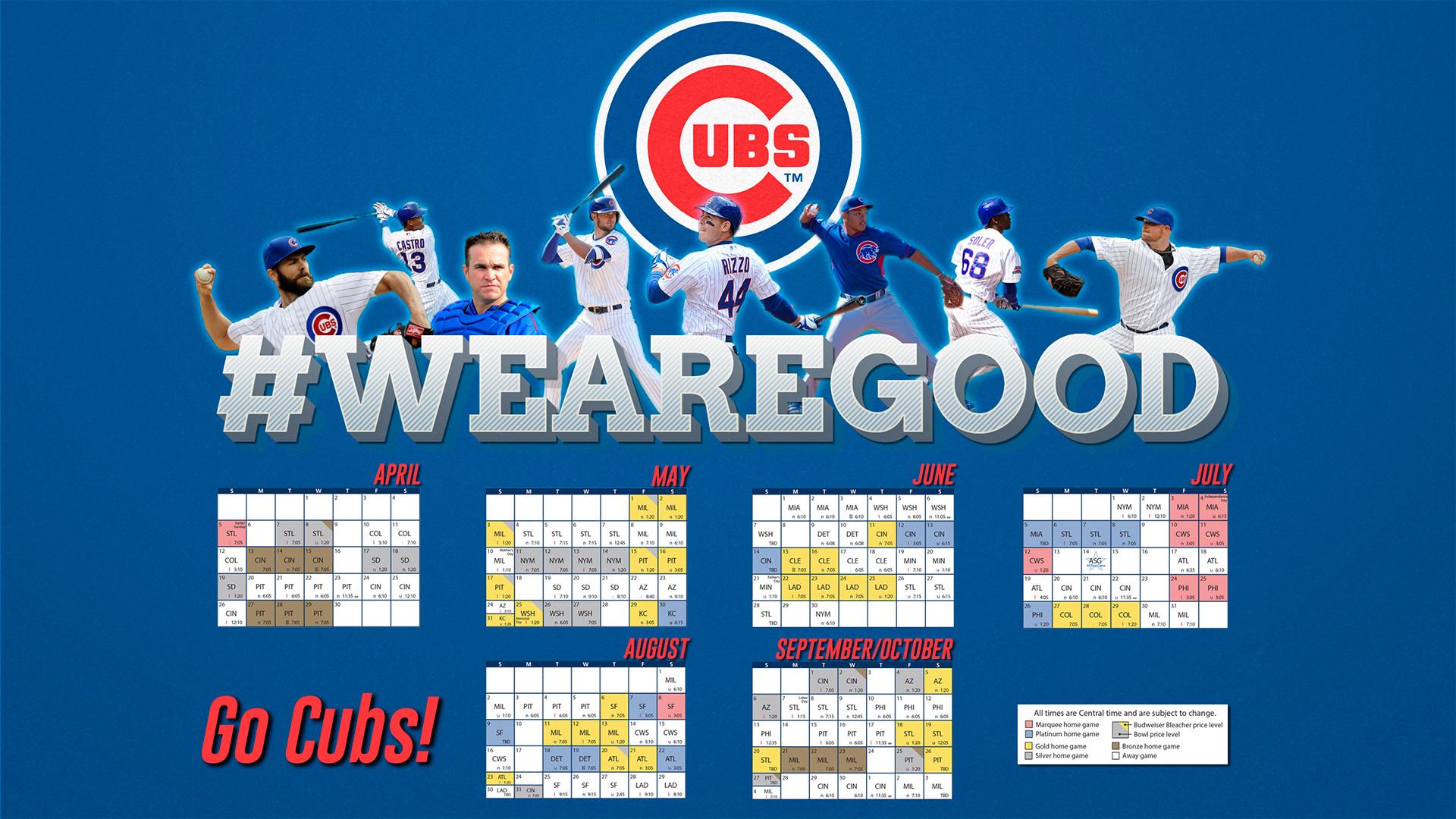 Chicago Cubs Schedule Wallpaper – WallpaperSafari