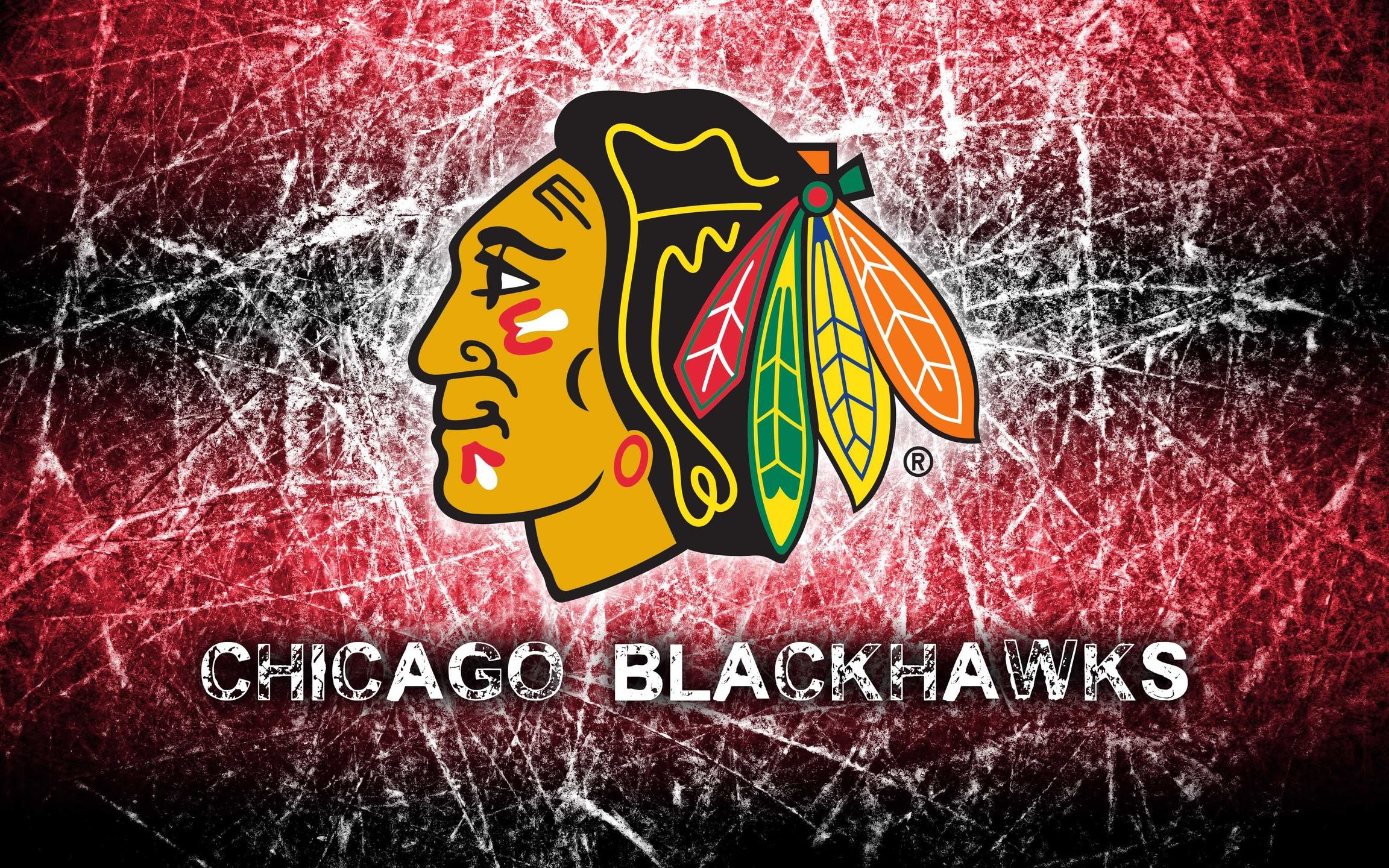 Chicago Blackhawks 2014 Logo Wallpaper Wide or HD | Sports Wallpapers