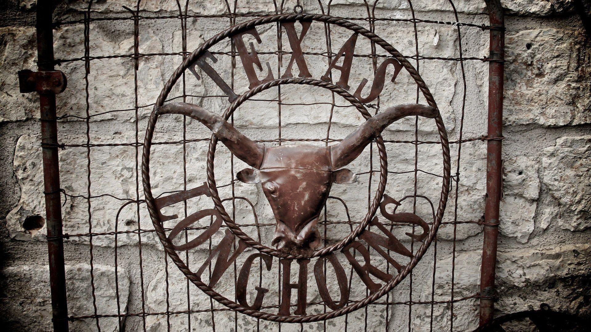 Texas Longhorn Desktop Wallpaper Texas Longhorns Image Texas 1920×1200 Texas  Longhorns Logo Wallpapers (