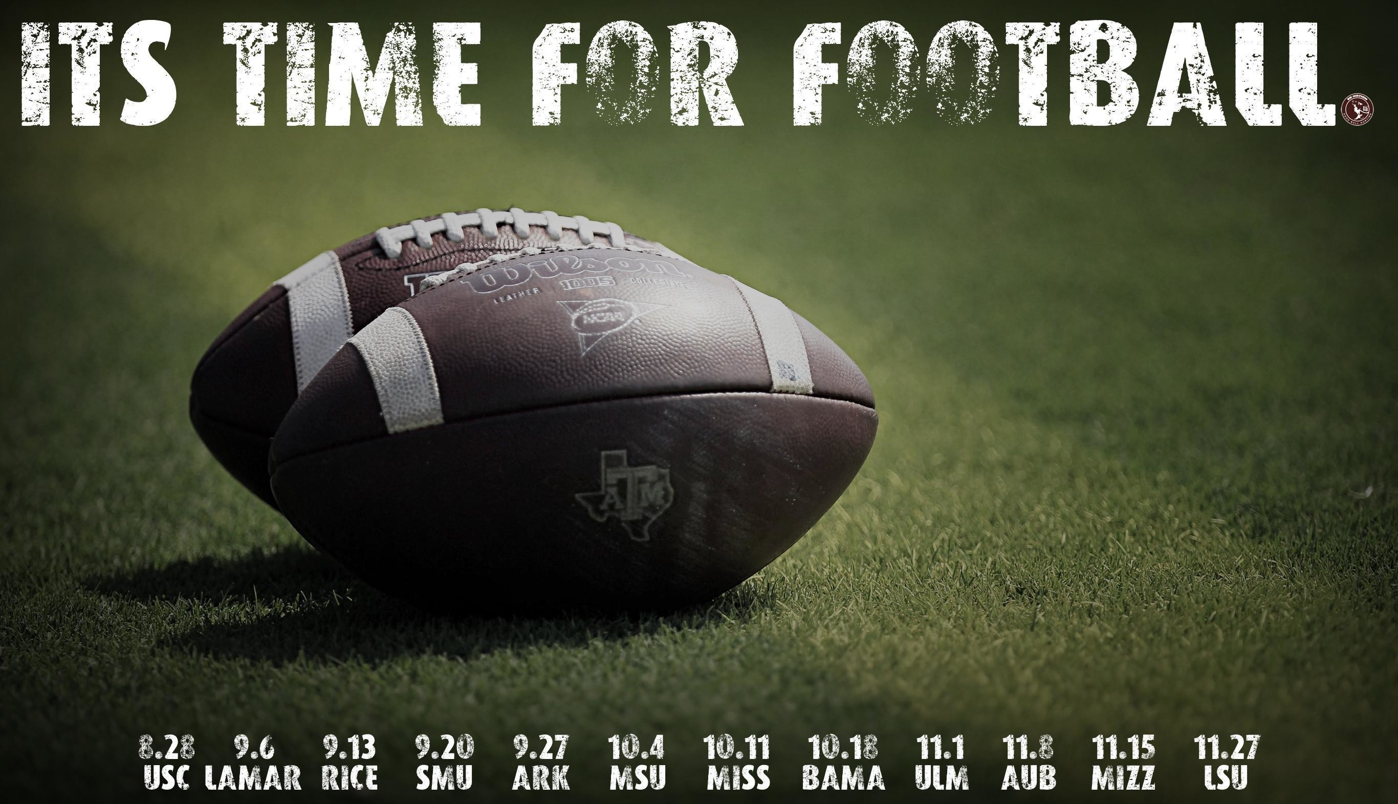 Aggie Football Wallpapers: Round 2 – Good Bull Hunting