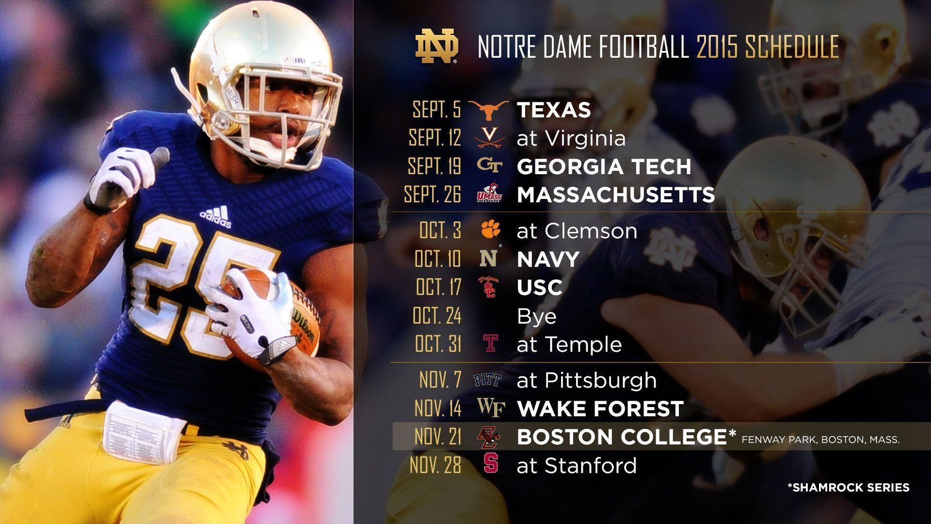 Inside The Schedules (2014-2016) | Notre Dame Football Blog