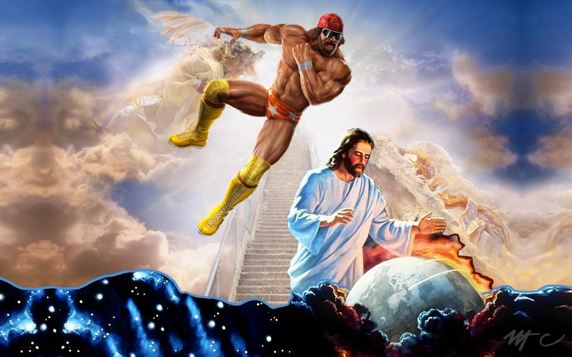 Macho Man Randy Savage Jesus wallpaper 253728