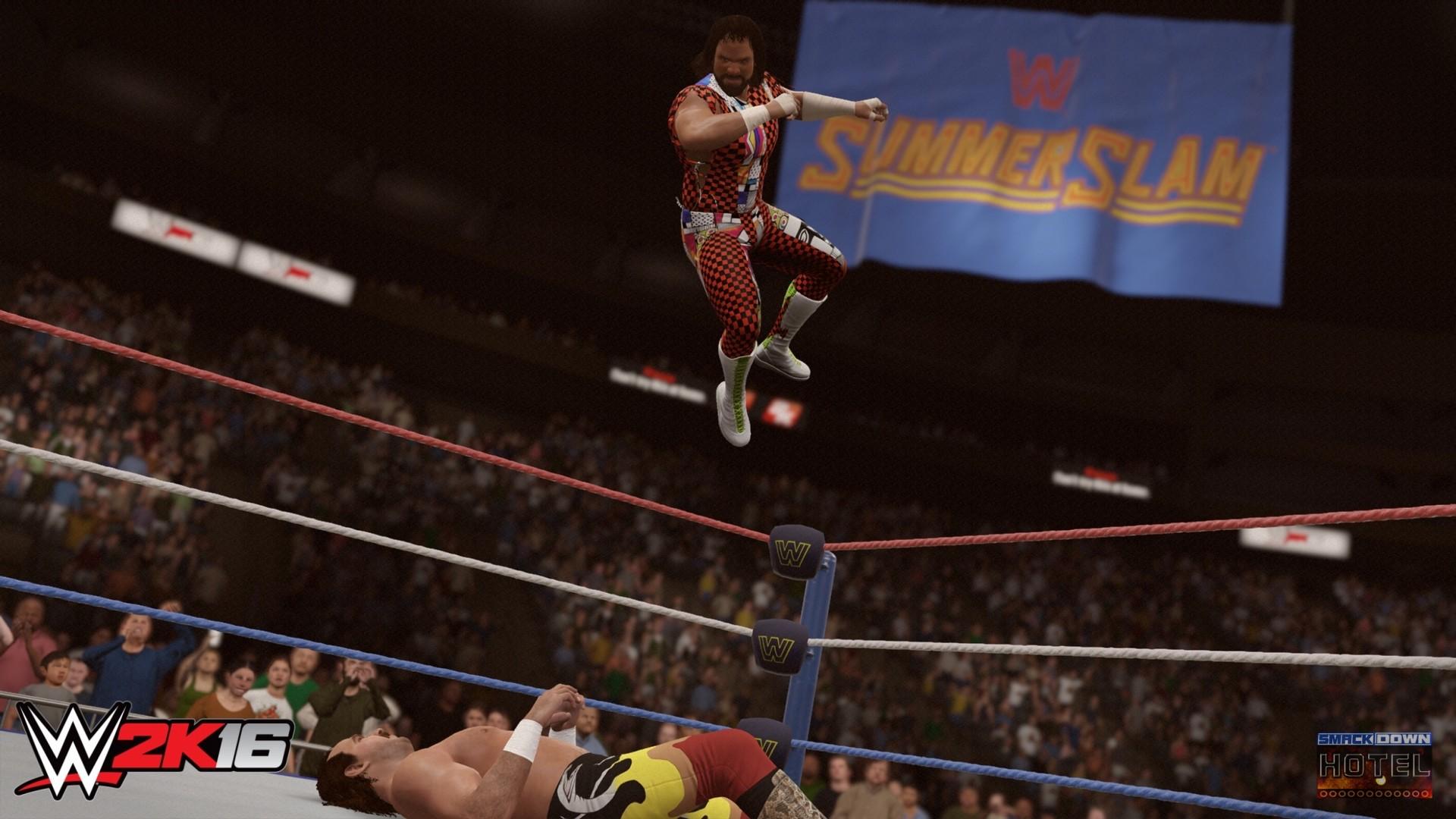 WWE2K16 Randy Savage Jake Roberts