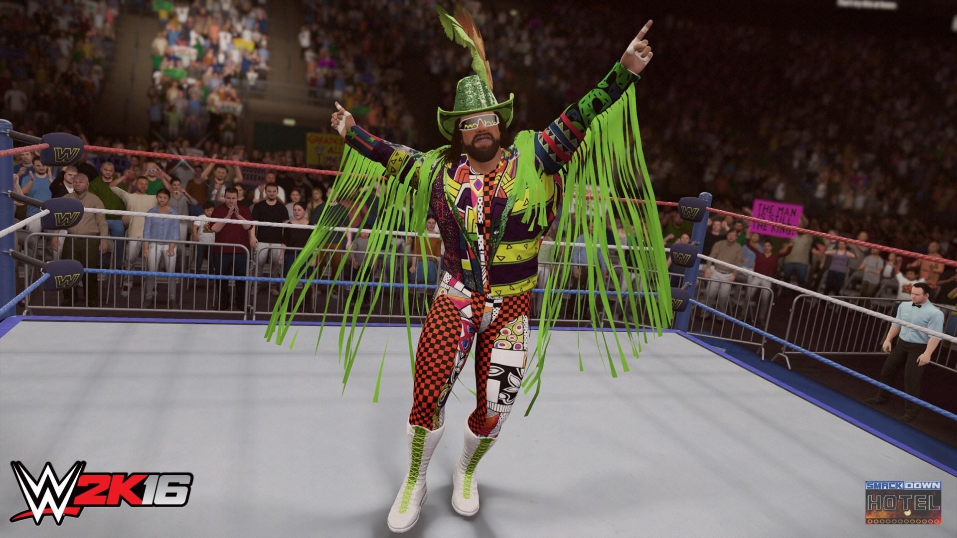 WWE2K16 Randy Savage Jake Roberts WWE2K16 Randy Savage 1
