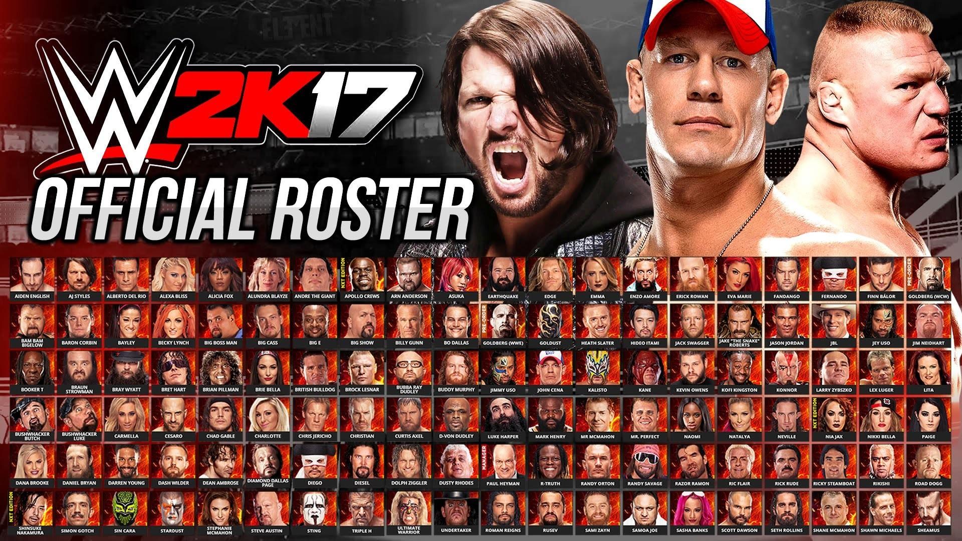 WWE 2K17 wallpapers best HD