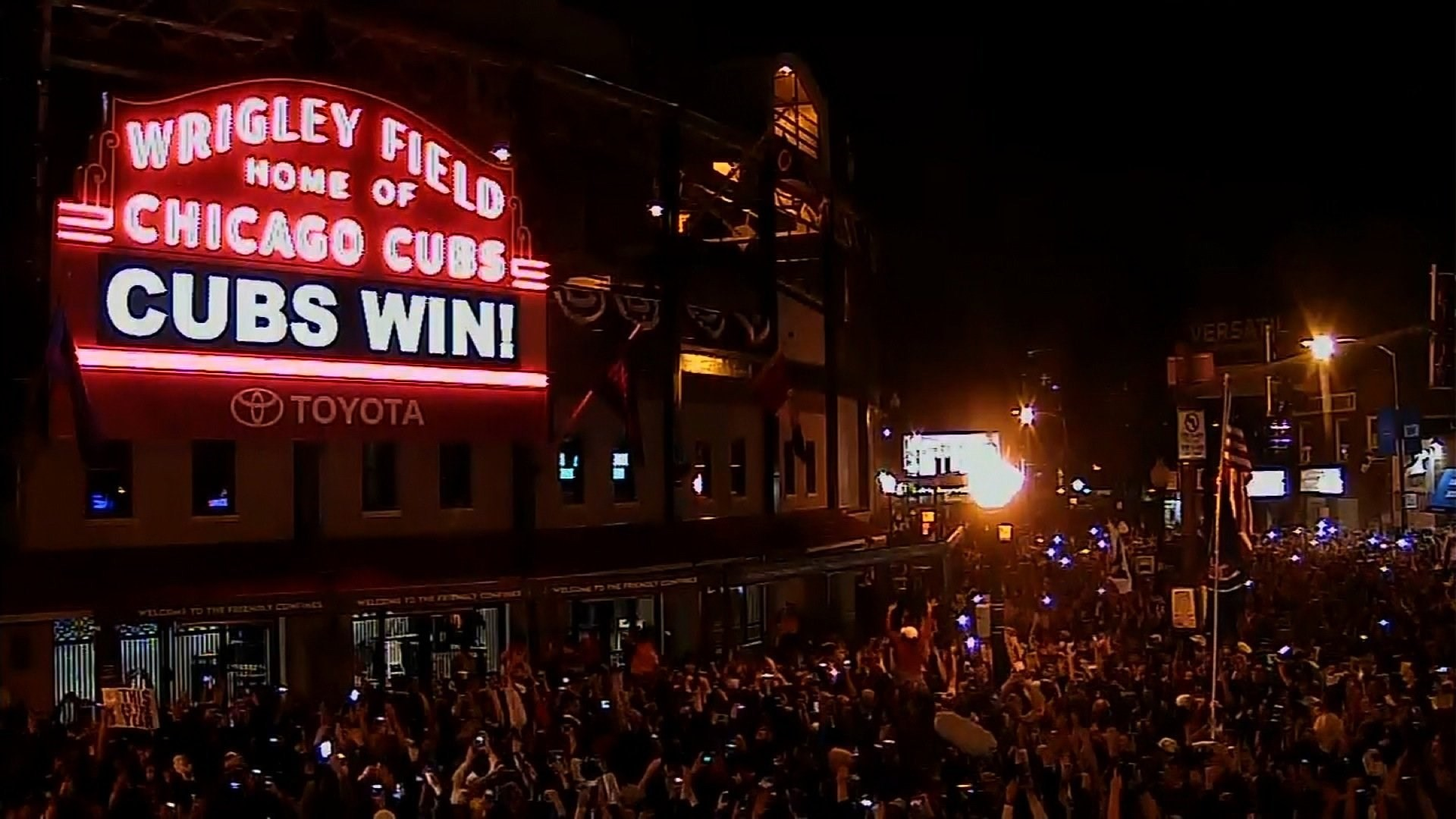 Parade for World Series champion Cubs on Friday
