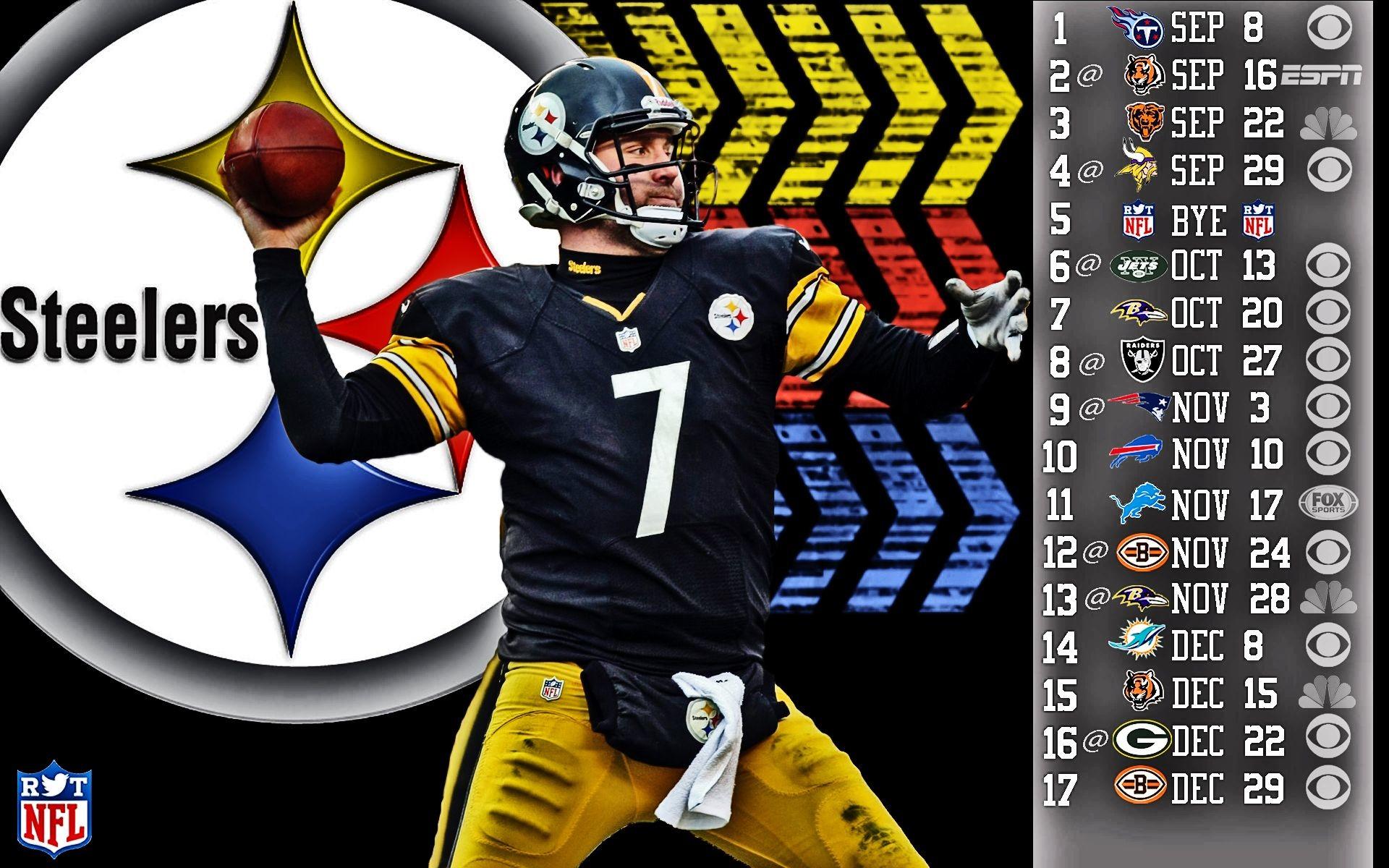 Steelers Wallpaper Schedule