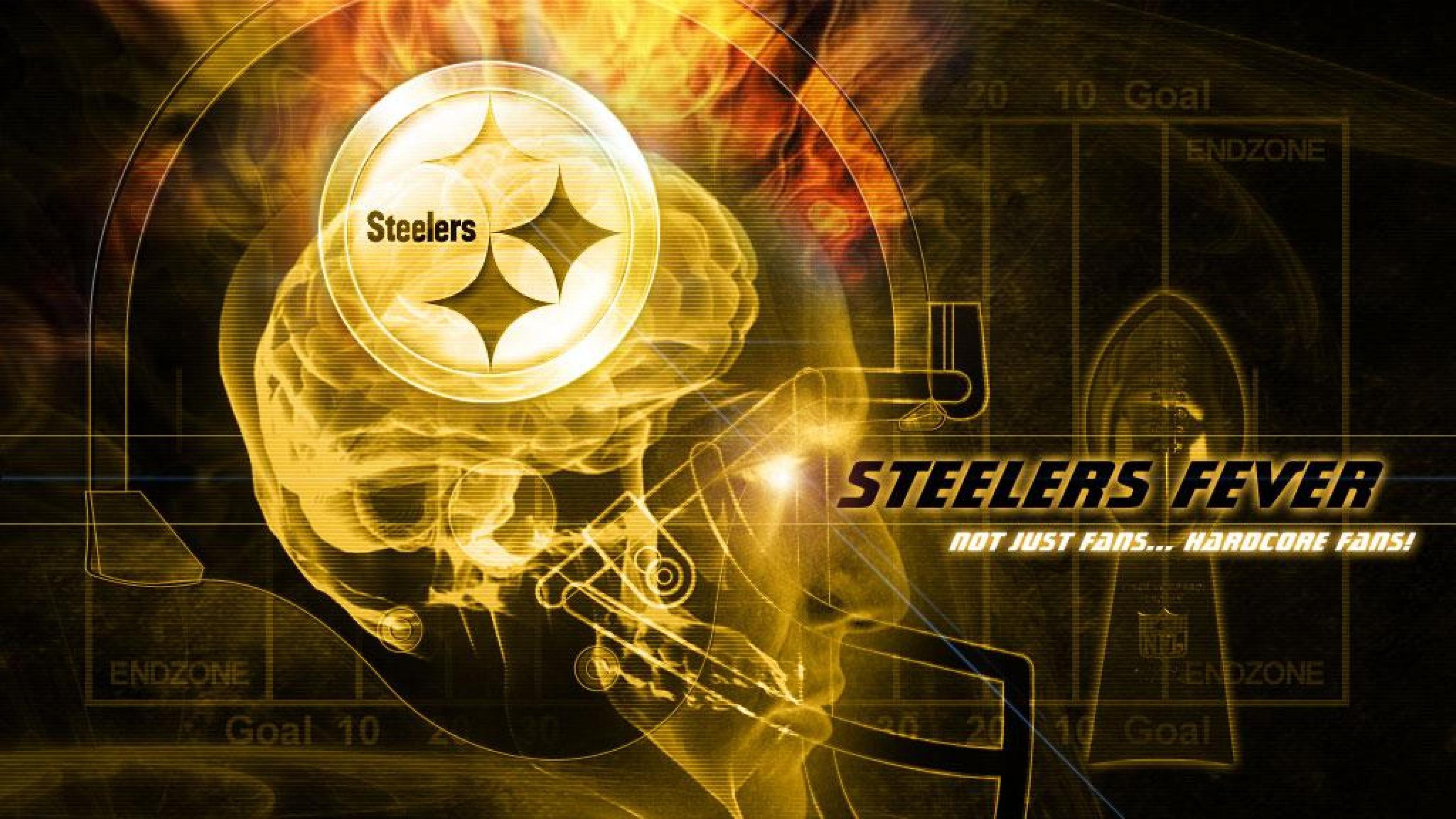 Desktop Pittsburgh Steelers Logo Wallpaper HD.