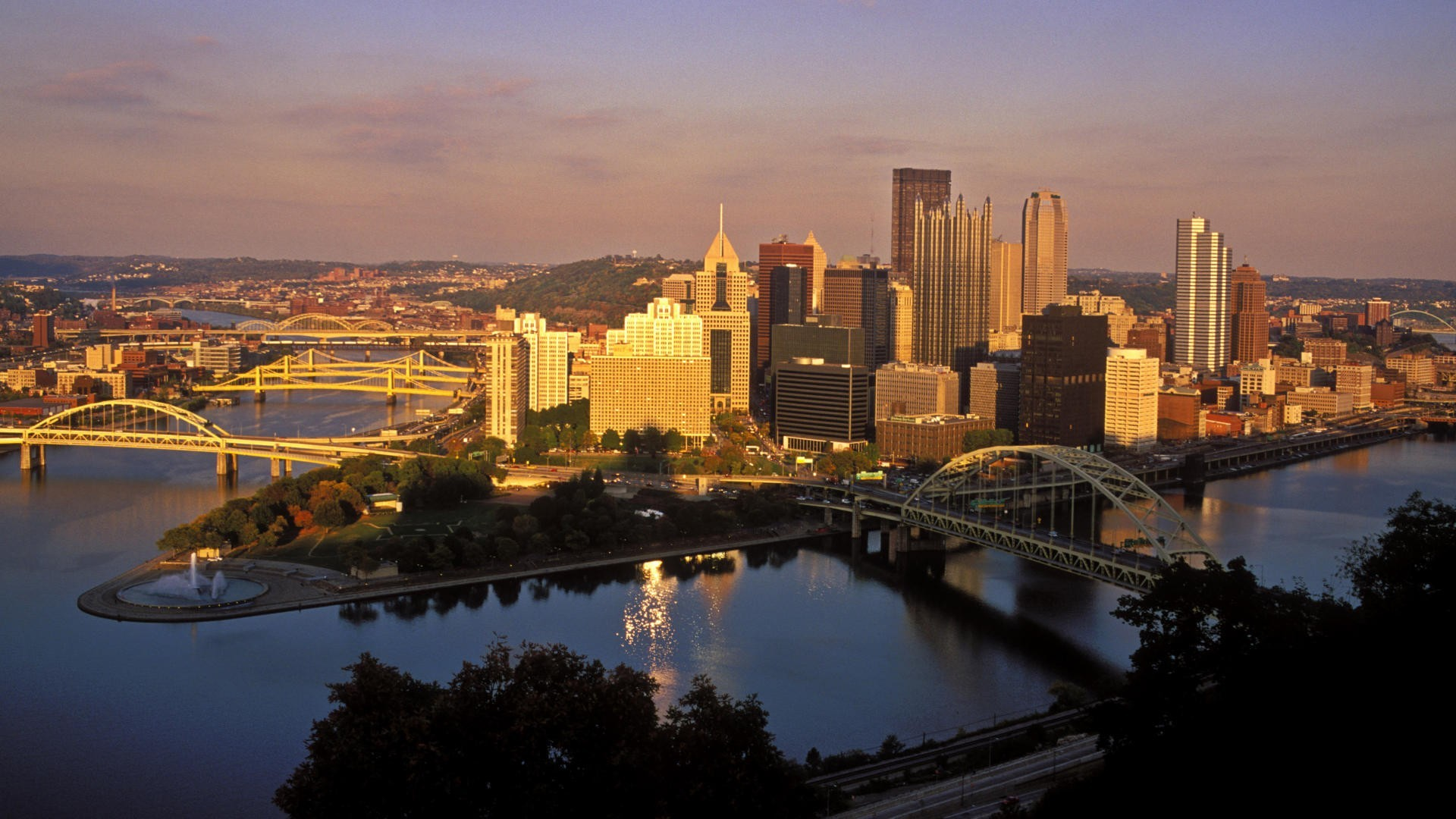 Pittsburgh City, Pennsylvania, USA – Wallpaper #38593