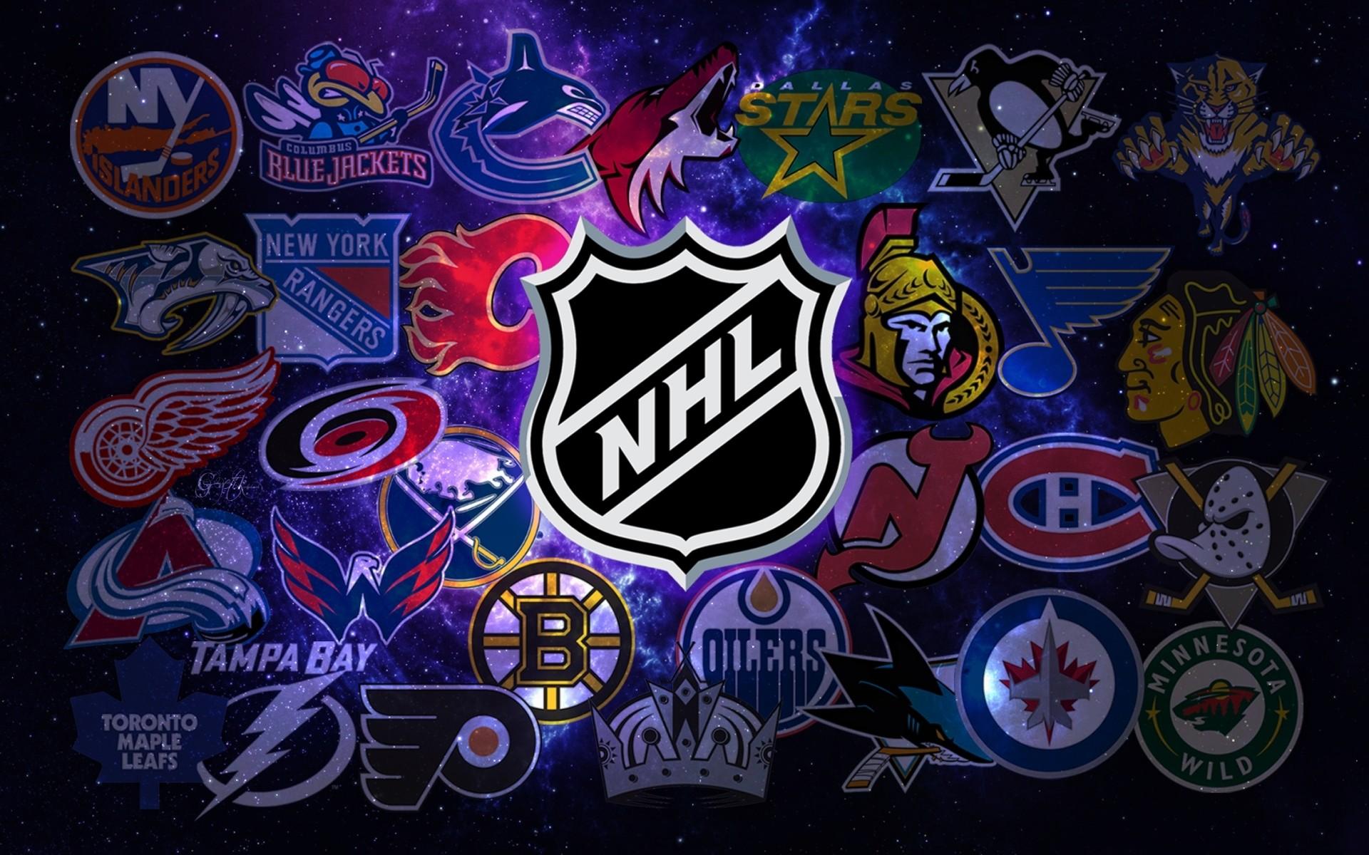 New NHL Logo Wallpaper