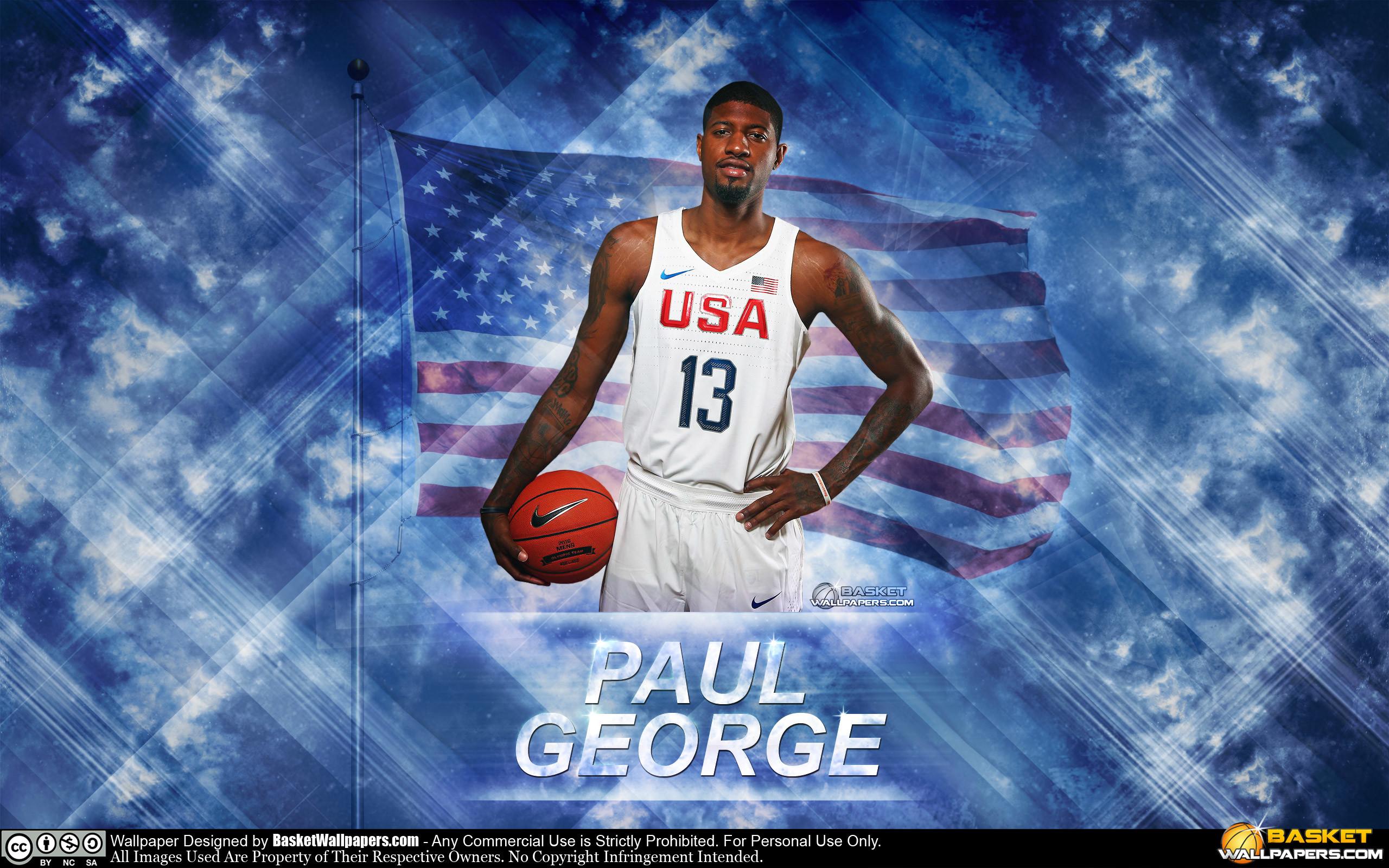 Paul George USA 2016 Olympics Wallpaper