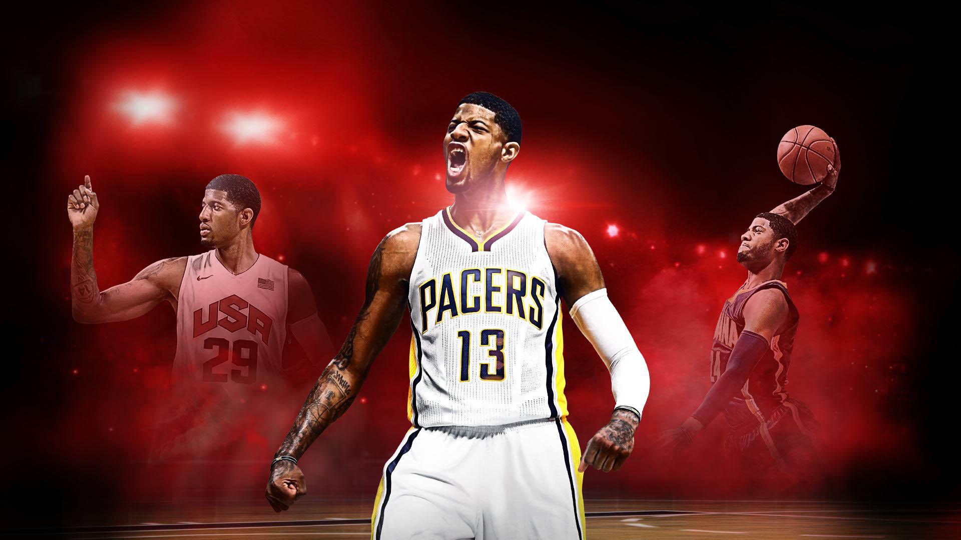 NBA Superstar Paul George Graces Cover of NBA 2K17
