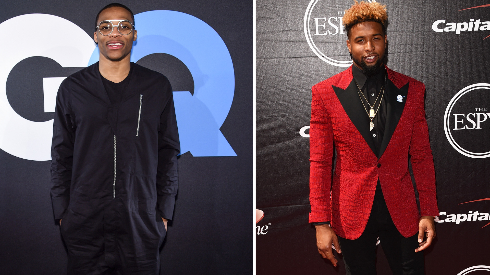 Russell Westbrook, Odell Beckham Jr. make GQ's 'most stylish men' list    Other Sports   Sporting News