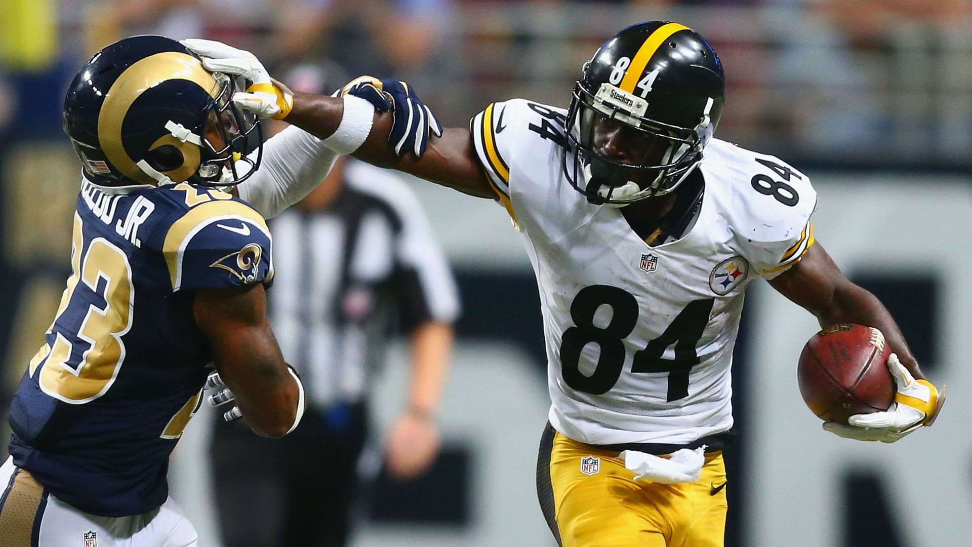 Antonio Brown frustrated with his production drop under Michael Vick | NFL  | Sporting News