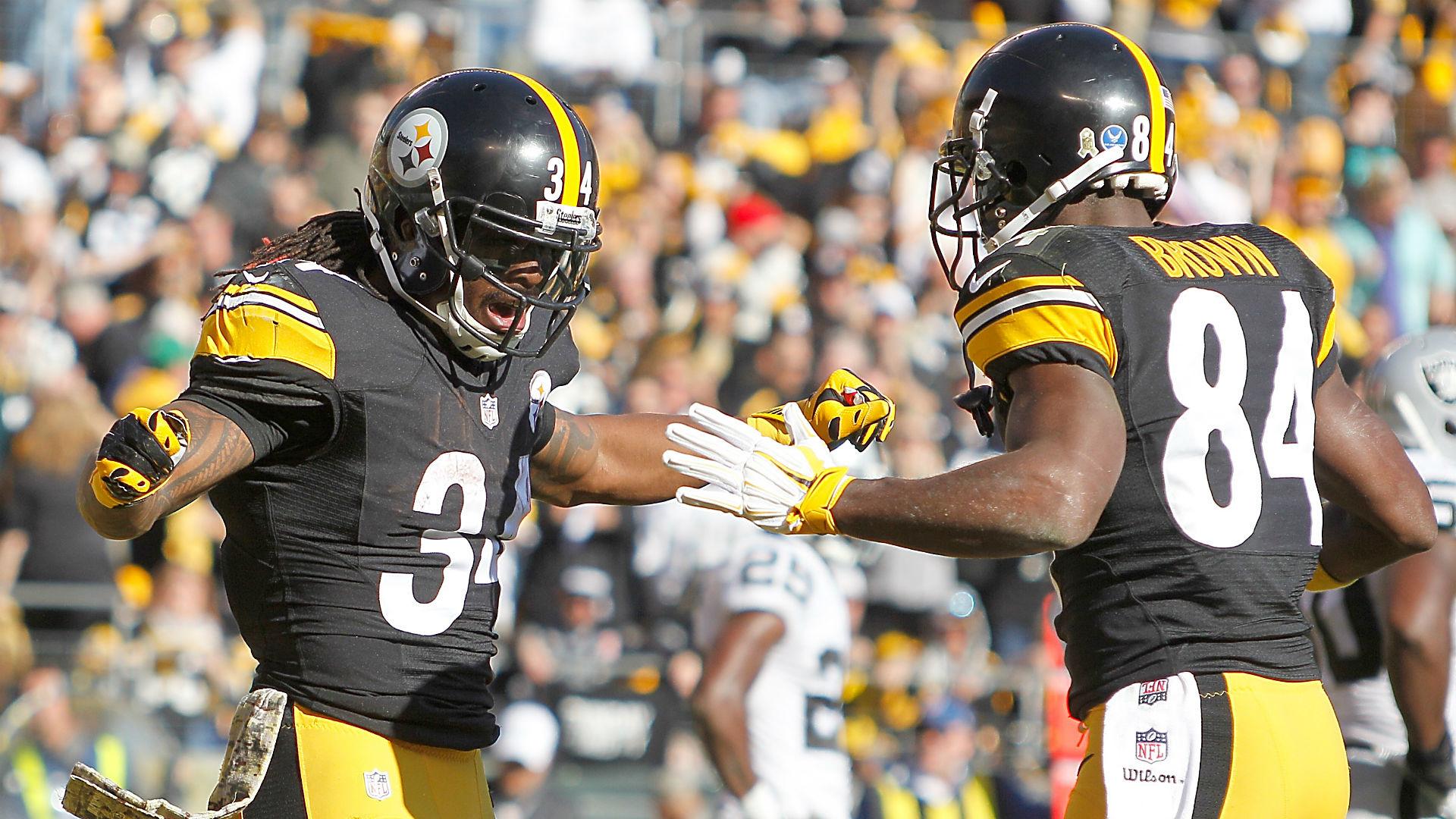 Antonio Brown, DeAngelo Williams must remain Steelers' saviors | NFL |  Sporting News