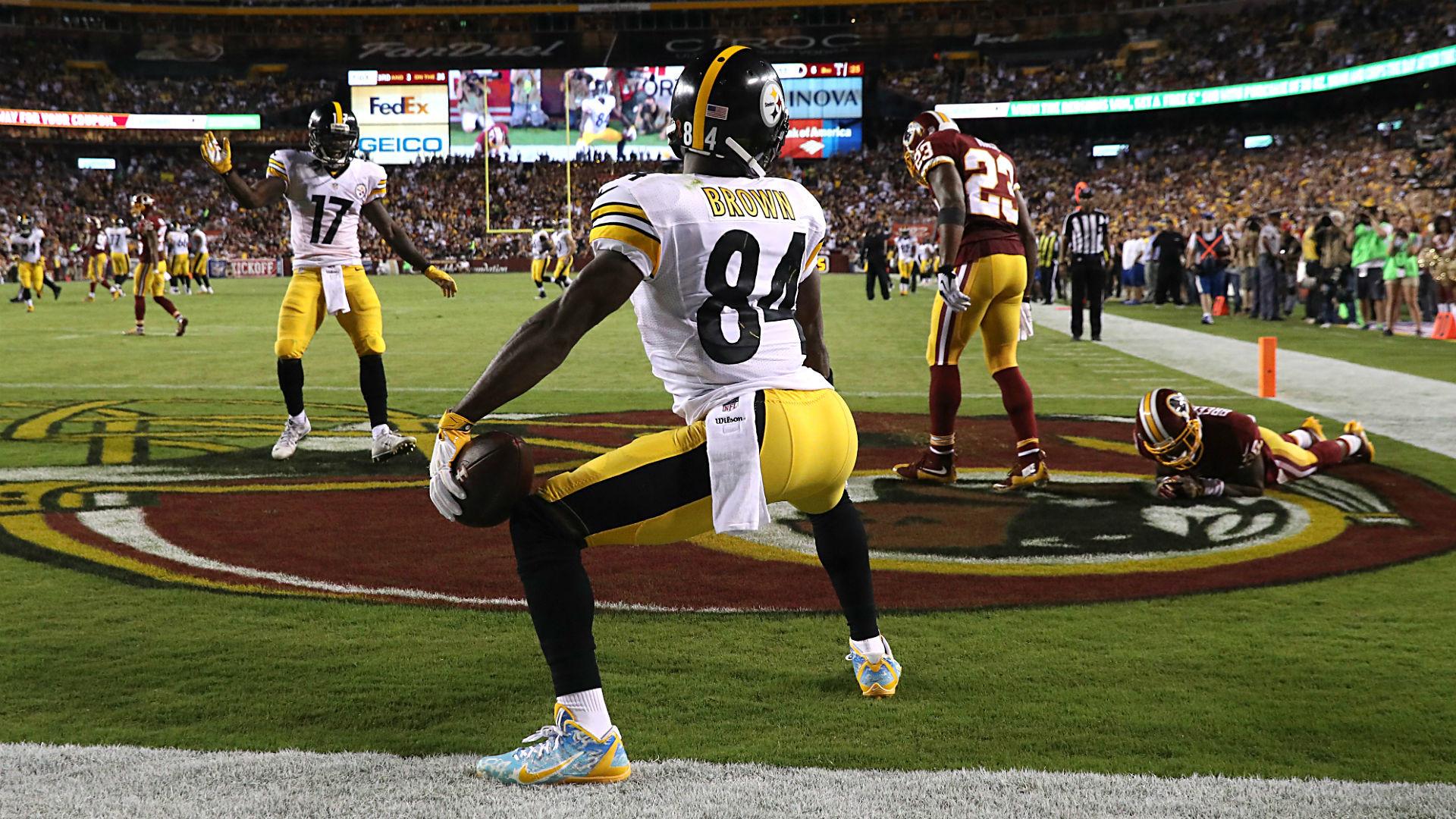 Antonio Brown's twerking celebration was worth the 15-yard penalty | NFL |  Sporting News