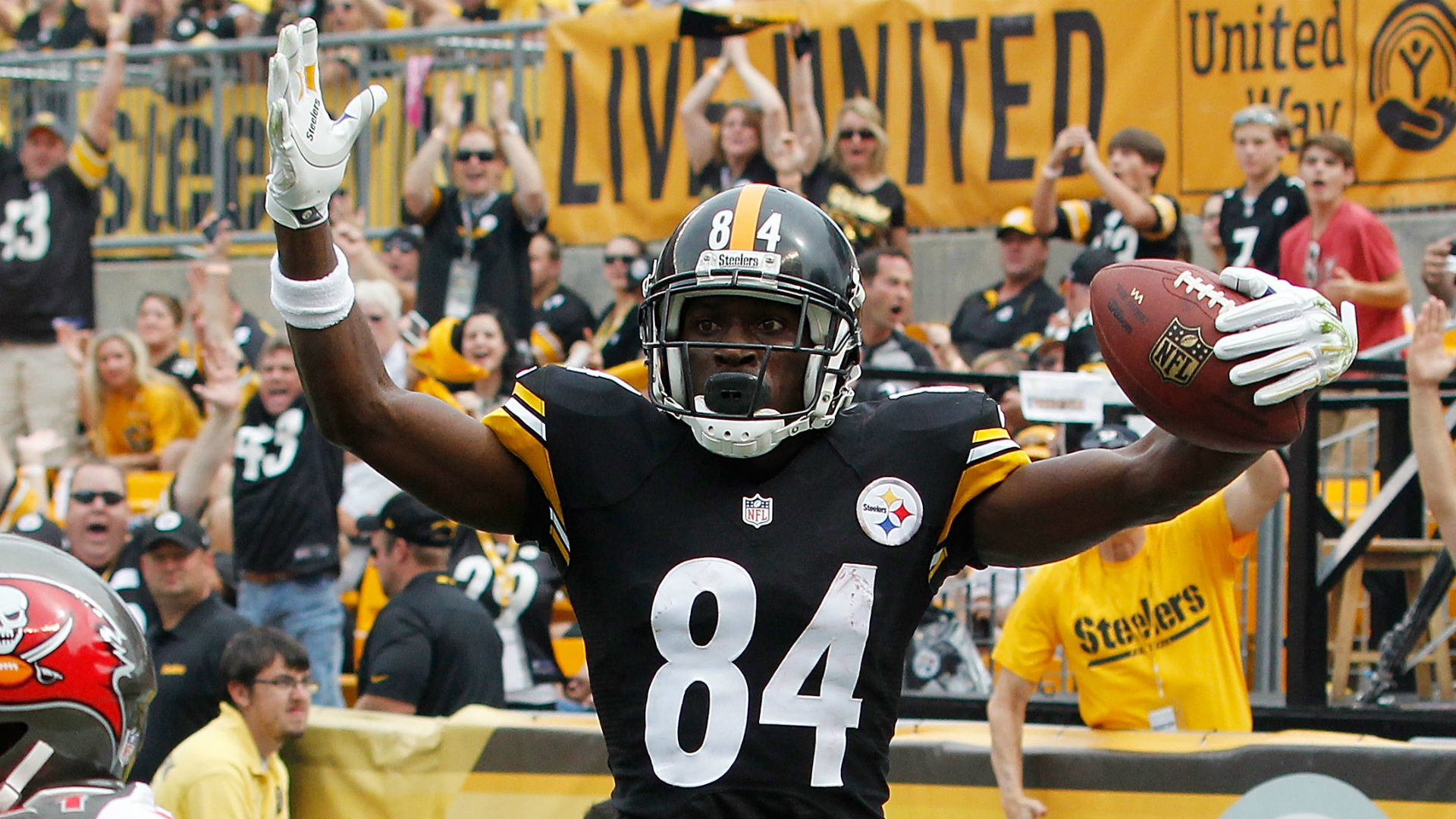 Antonio Brown explains how to do his touchdown dance | NFL | Sporting News