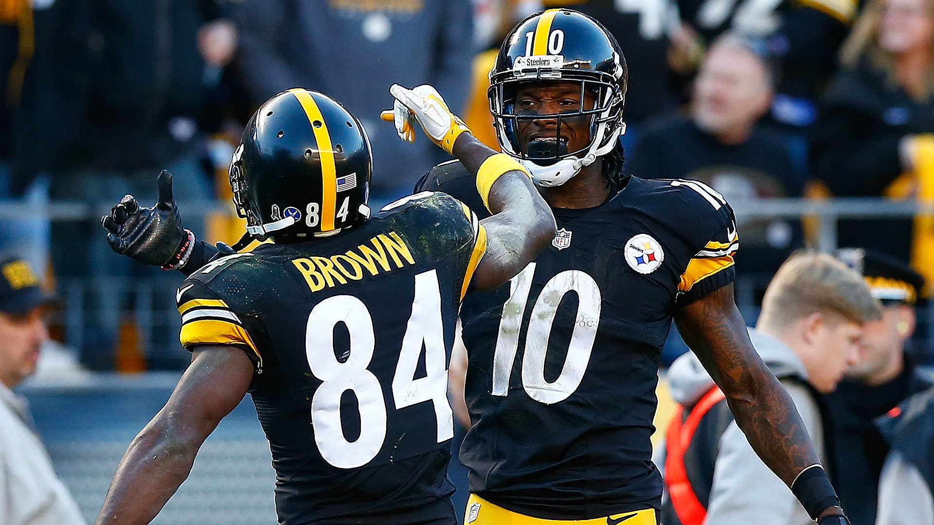 Antonio Brown's front-flip touchdown was a thing of beauty | NFL | Sporting  News