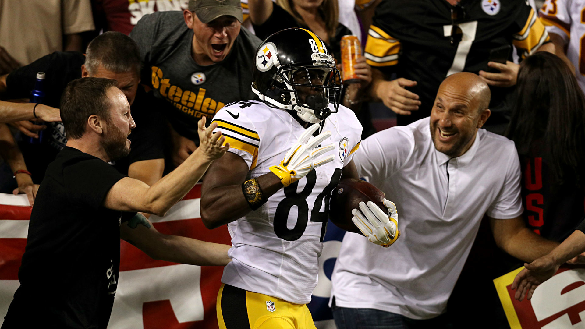Antonio Brown rewards Steelers' trust vs. Washington; that's what MVPs do |  NFL | Sporting News