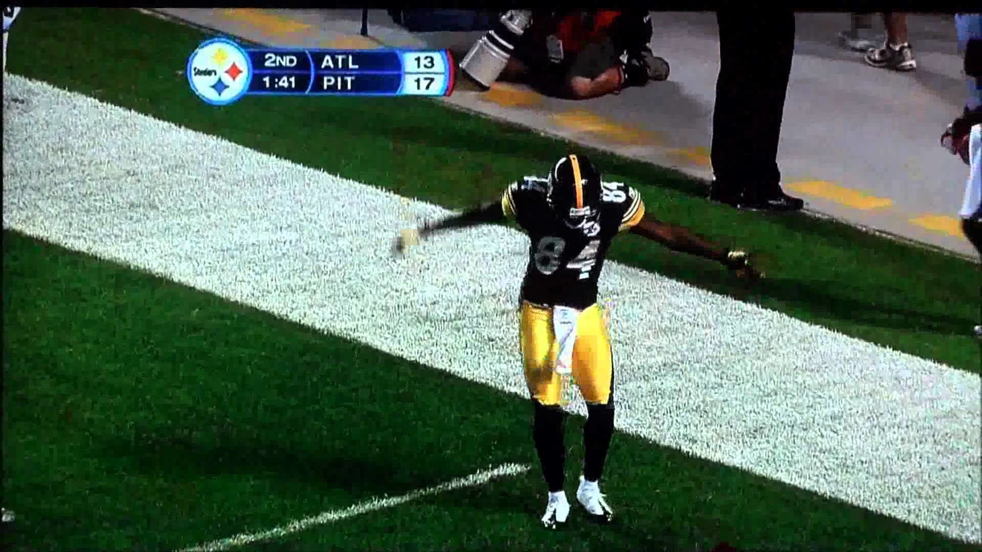 Antonio Brown's touchdown dance video. The best on YouTube!!! – YouTube