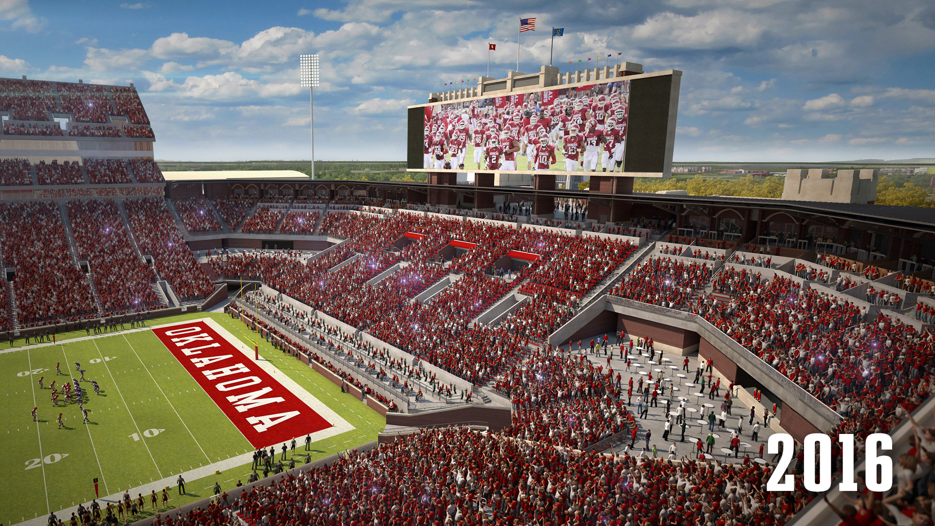 new ou wallpapers – photo #31. Home Opener in the New Stadium – The  Official Site of .