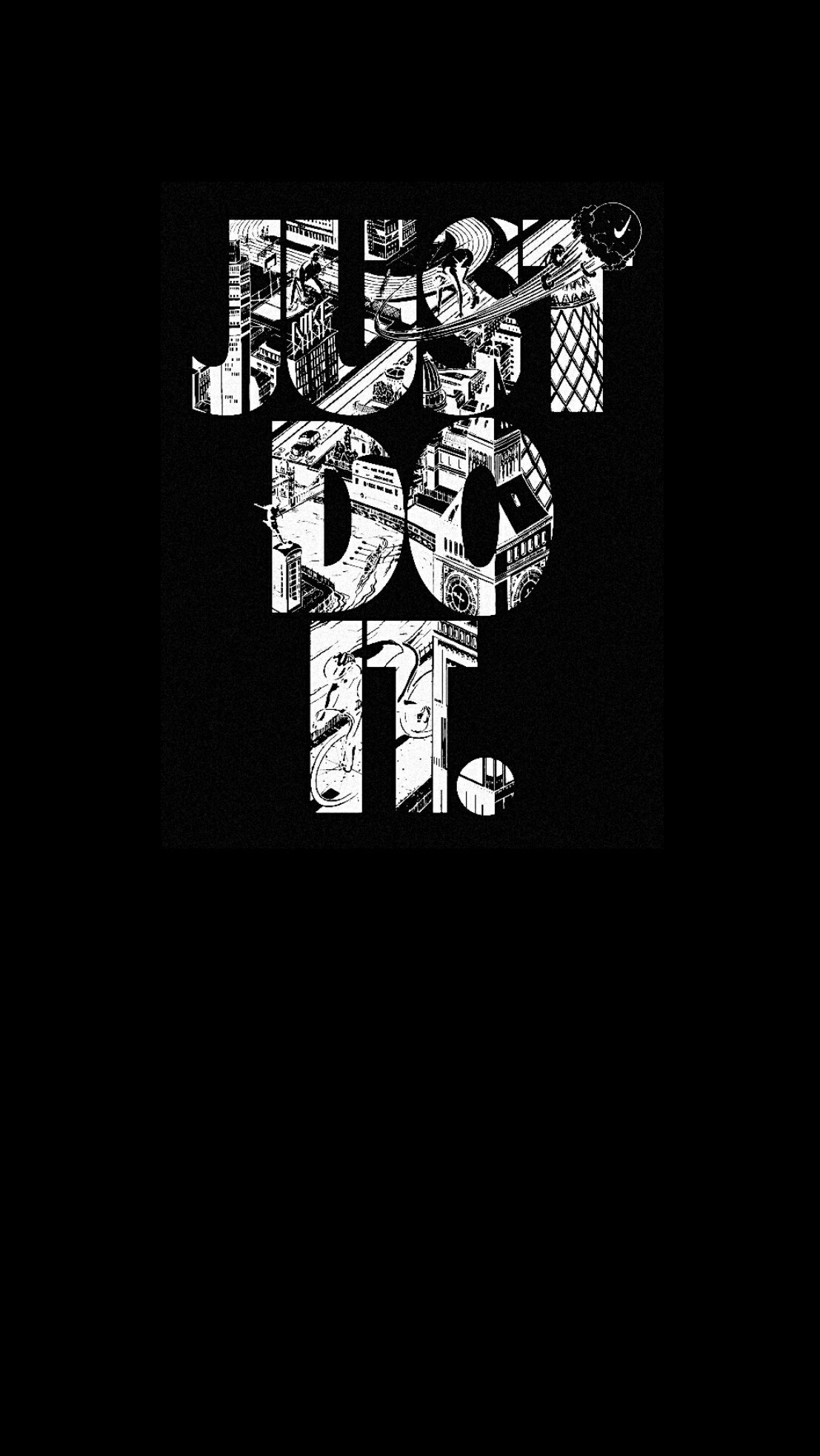 #nike #black #wallpaper #iPhone #android
