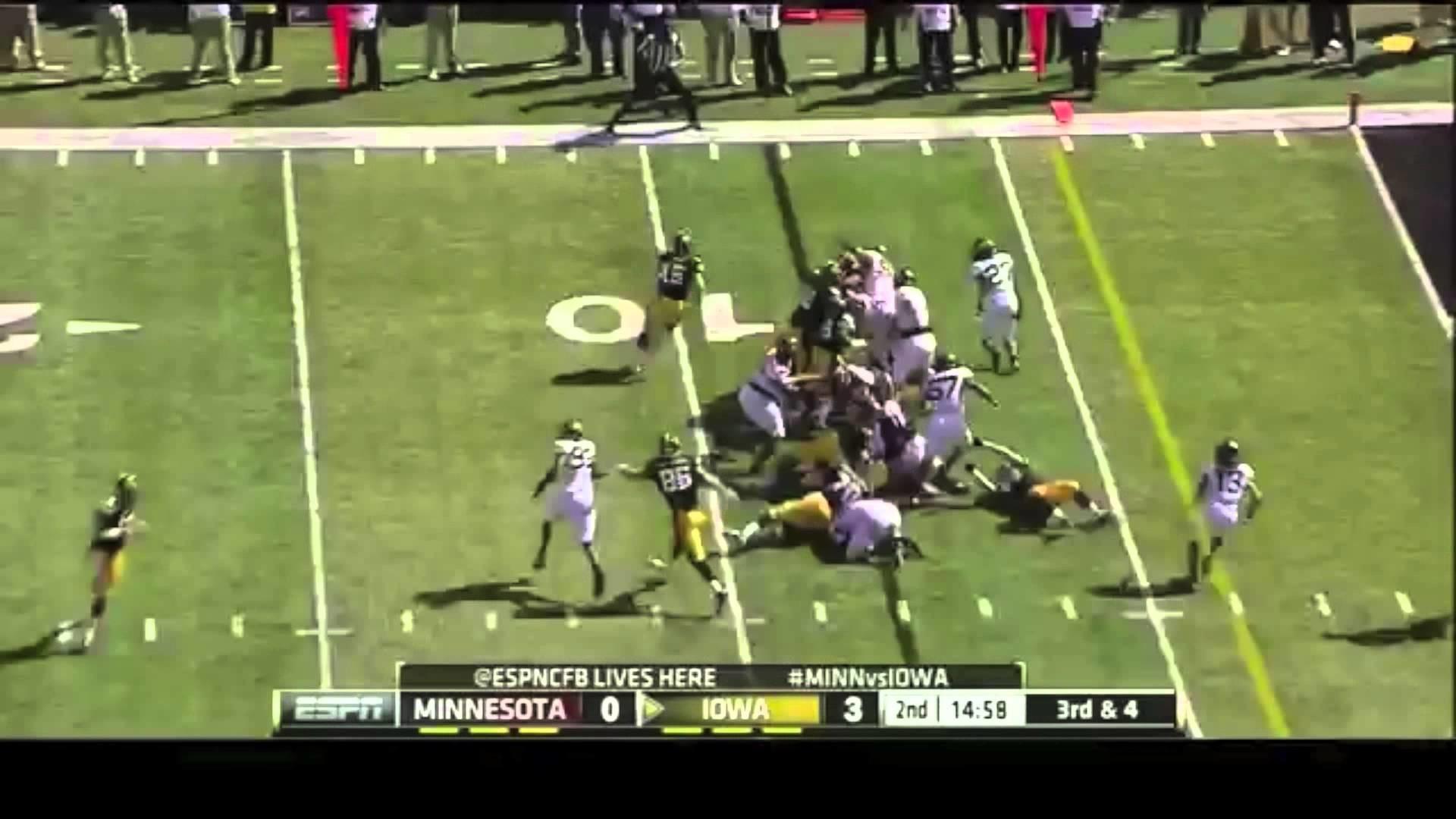 Iowa Hawkeye Football 2013 – United We Stand – YouTube