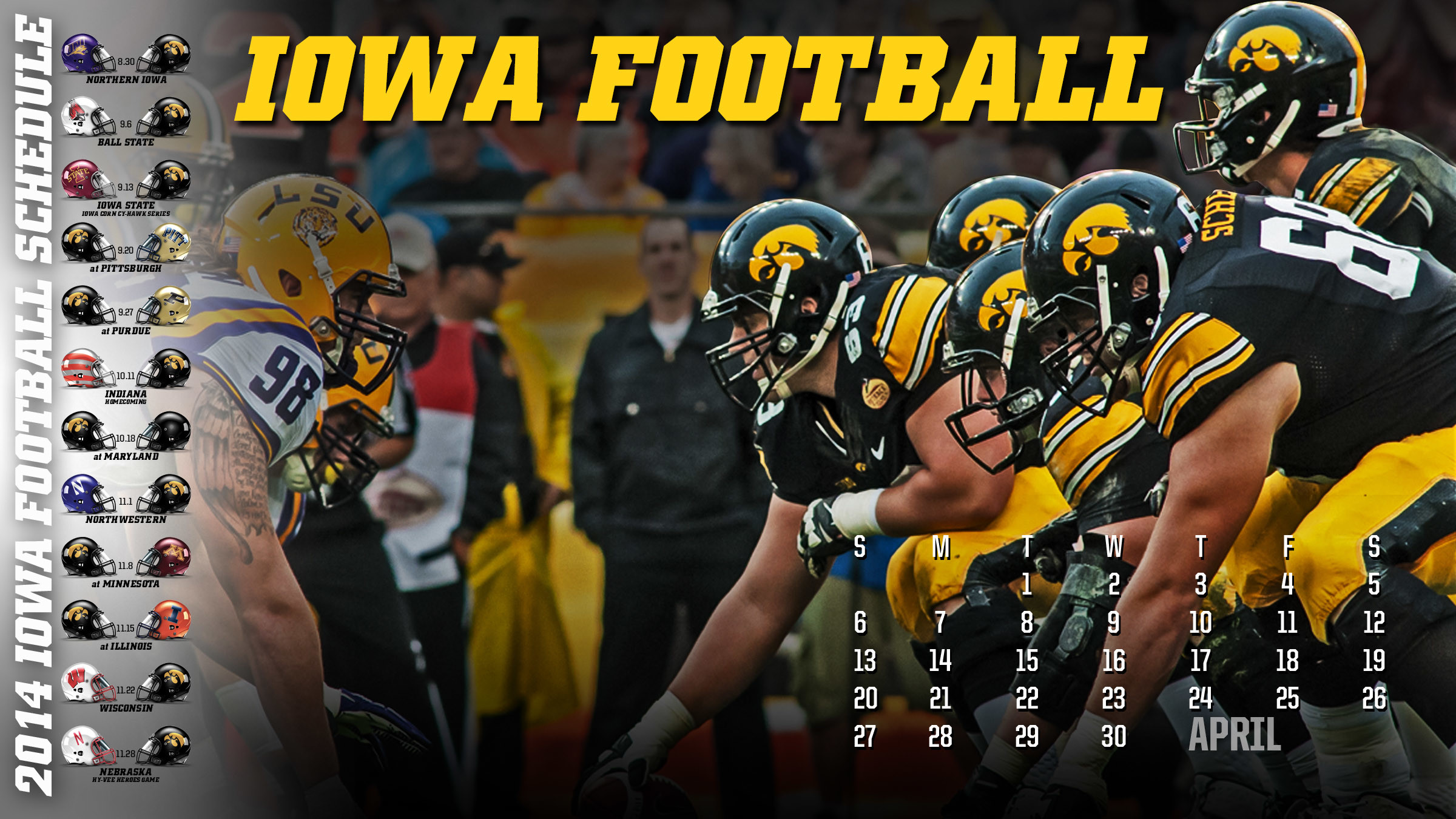 Iowa Hawkeyes Wallpaper