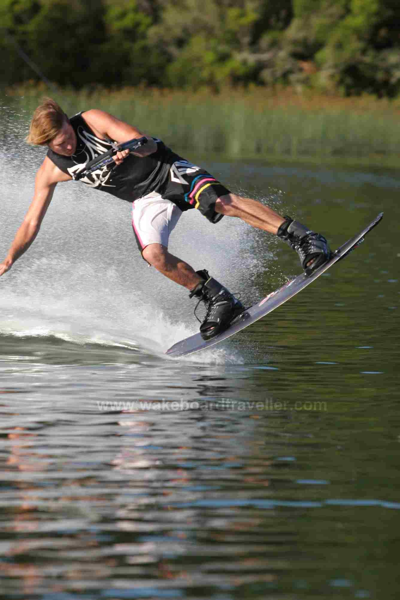 Kristin Bower – Butter Slide Wakeboard trick