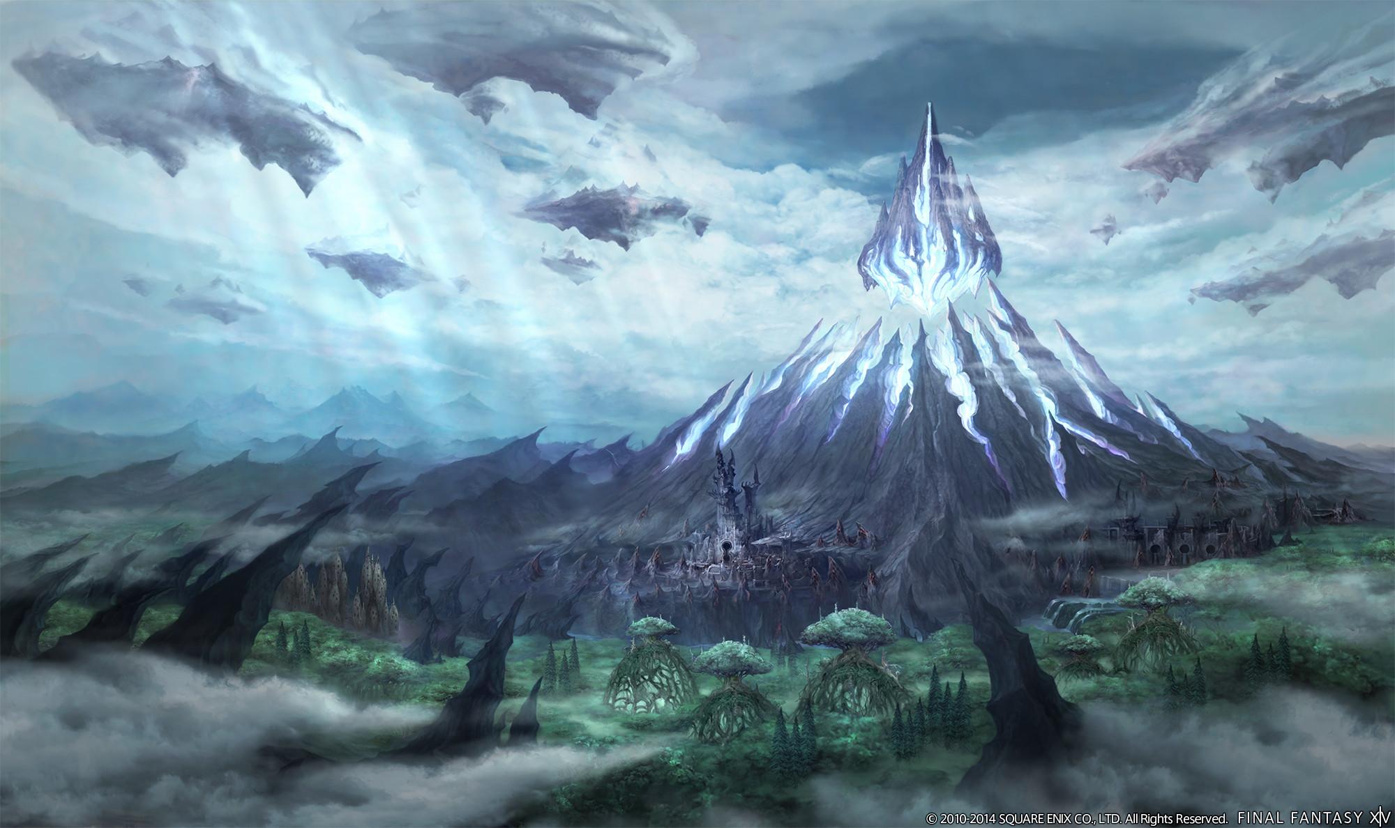 Final Fantasy XIV: Heavensward Environment Screens & Artworks
