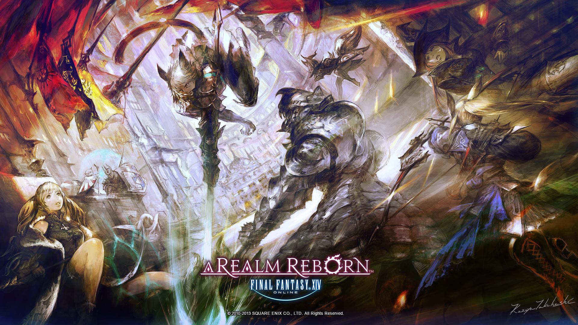 Final Fantasy XIV A Realm Reborn Wallpapers Jogos Online