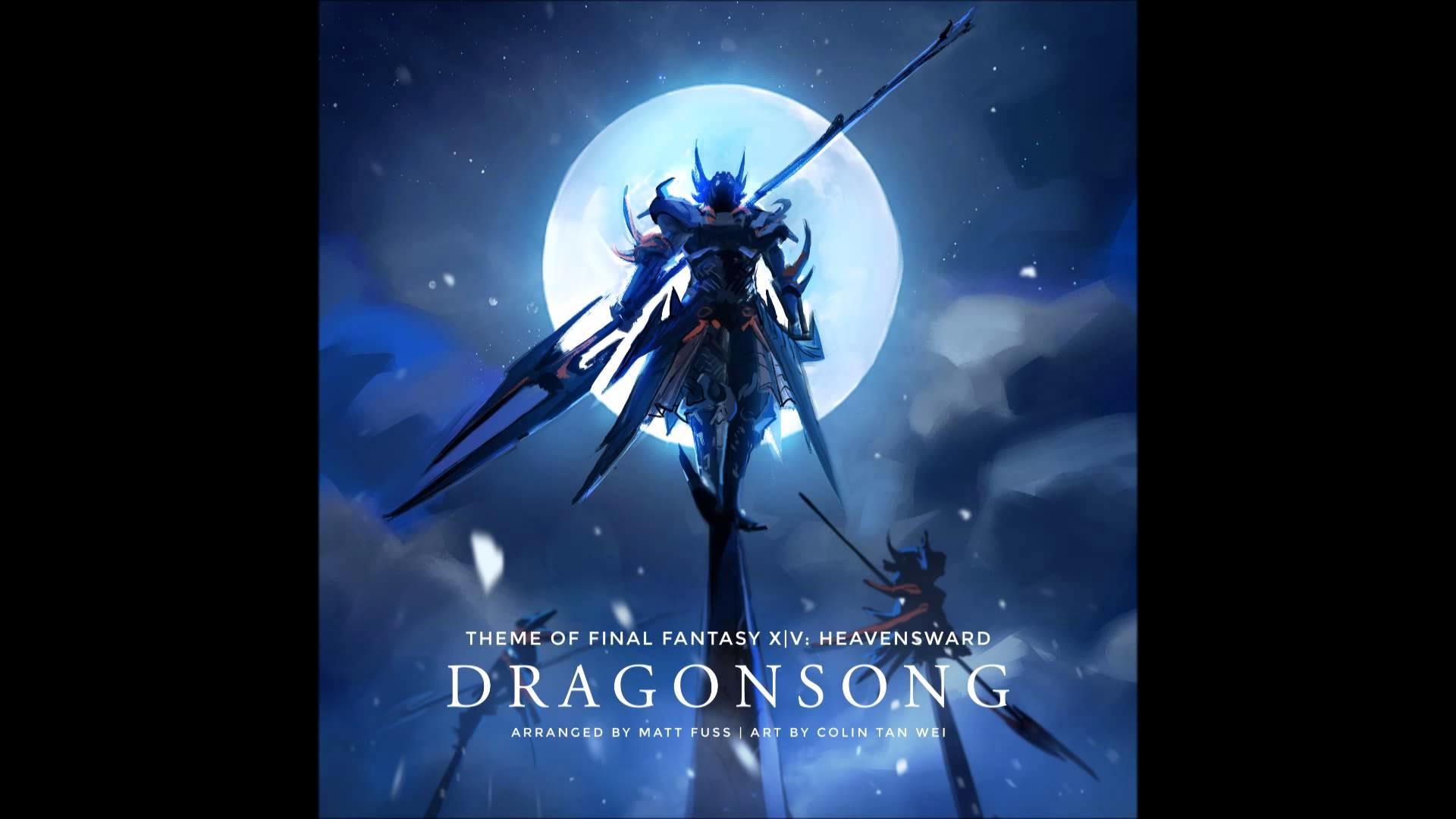 [Piano Solo] 'Dragonsong' (Main Theme of Final Fantasy XIV: Heavensward)