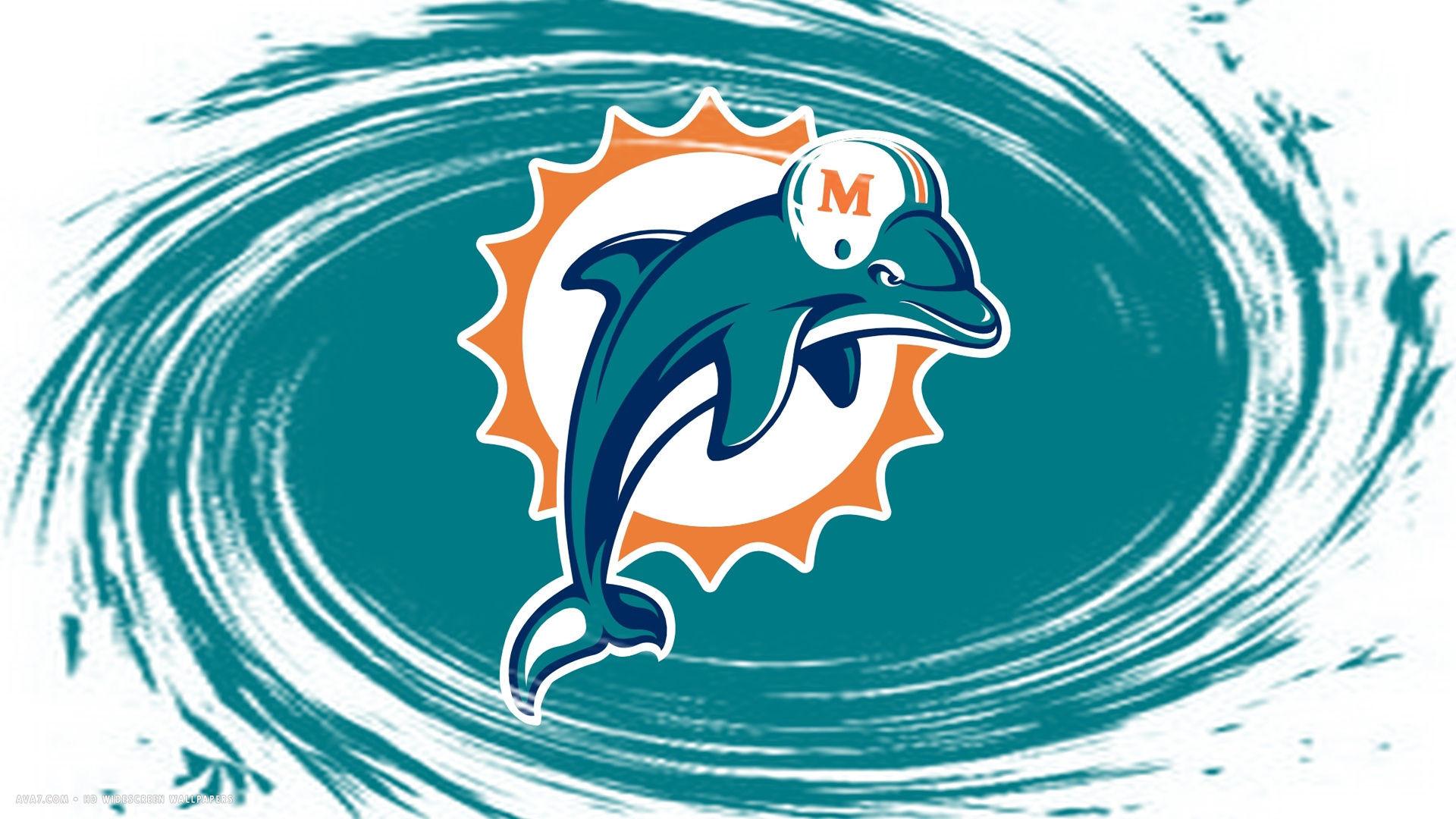 miami dolphins nfl football team hd widescreen wallpaper