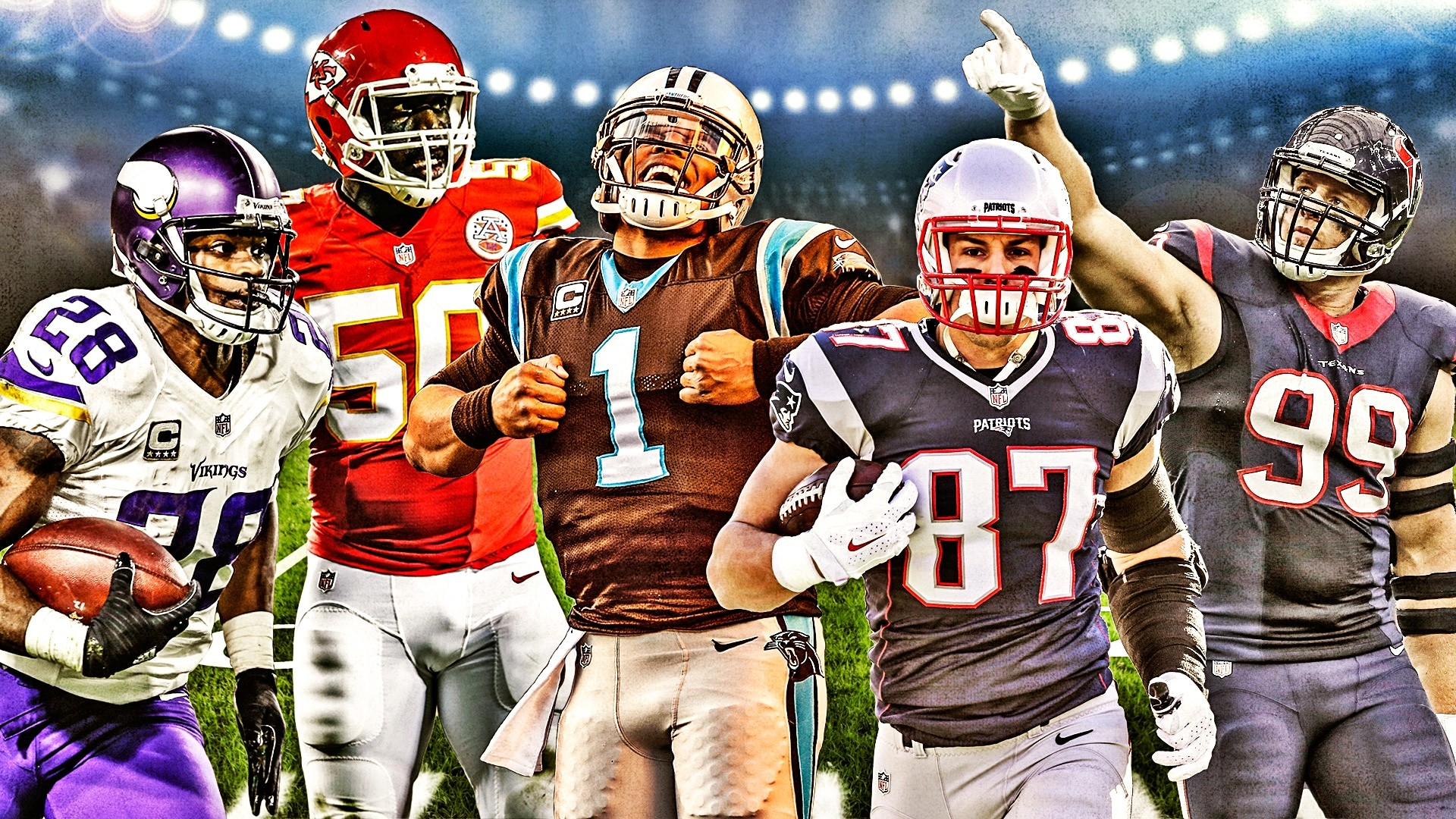 Sporting News' 2015 NFL All-Pro team: Coaches crown the season's best  players | Sporting News