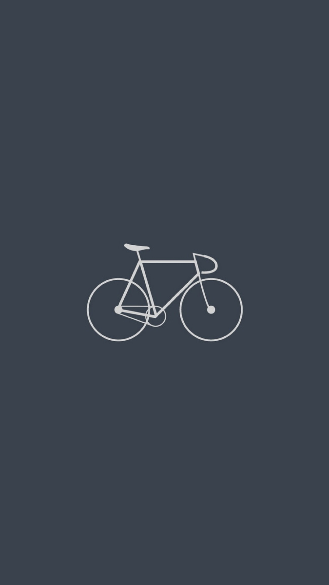 Preview Wallpaper Bicycle, Minimalism, Gray 1080×1920
