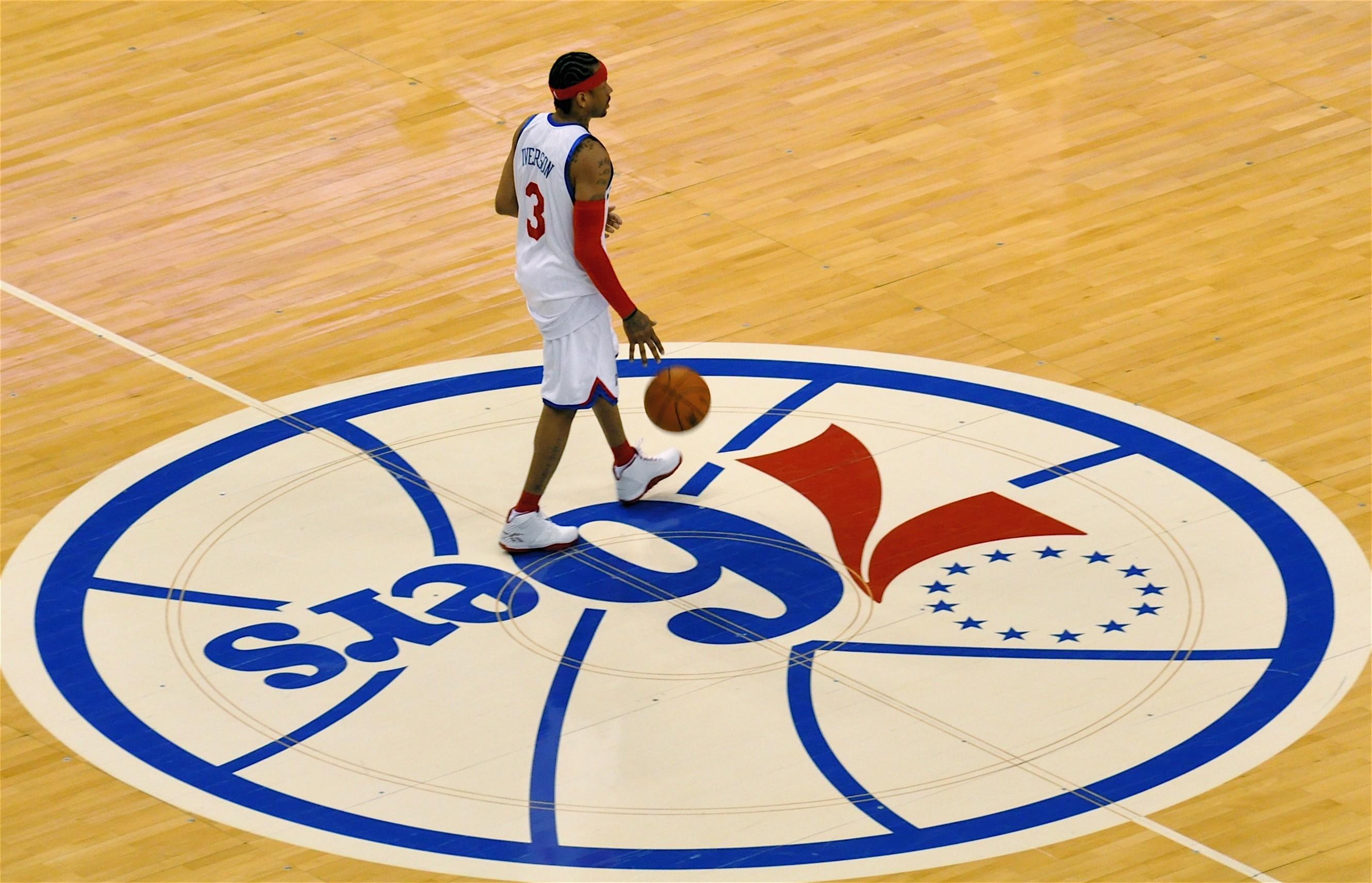 NBA, Basketball, Allen Iverson, Philadelphia 76ers, Philadelphia