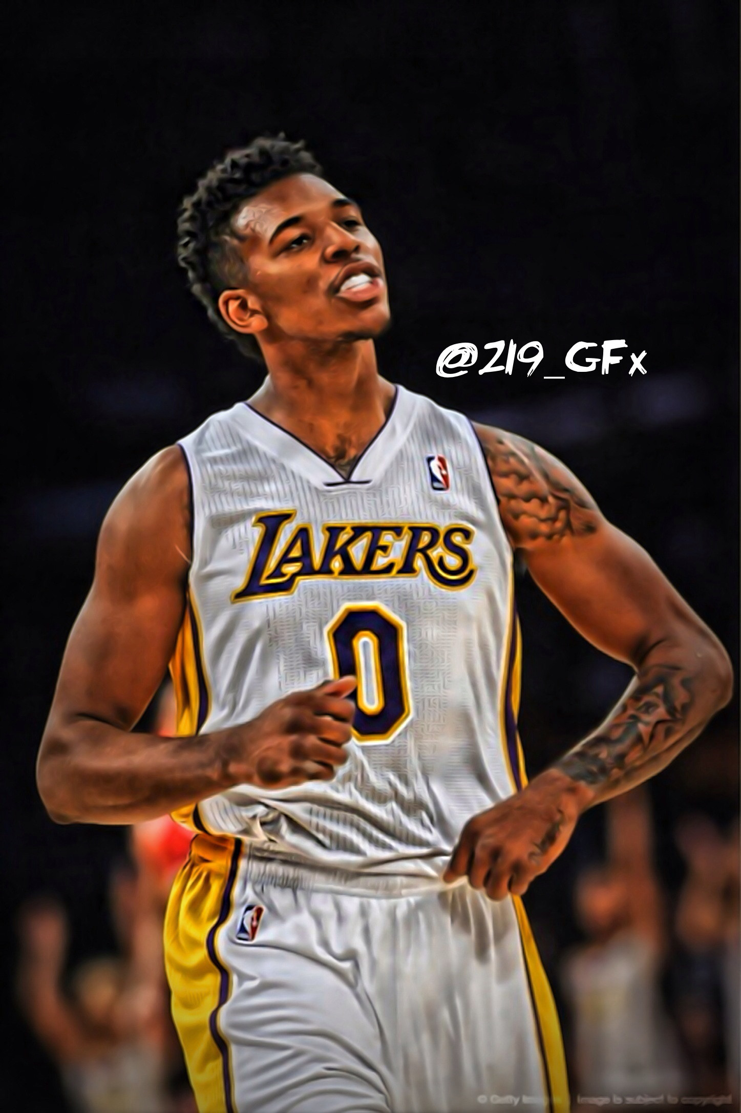 Nick Young…Los Angeles Lakers