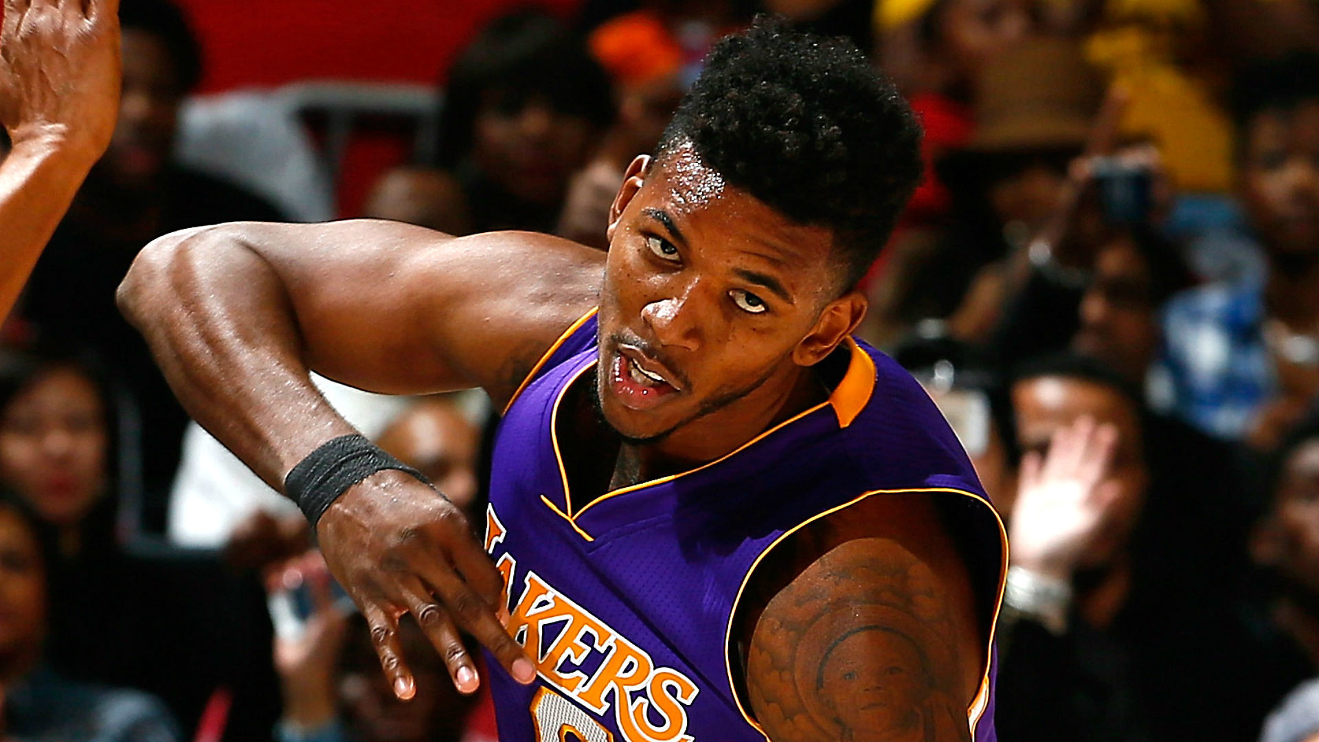 Welcome back, Swaggy P: Lakers win with Nick Young on court   NBA    Sporting News