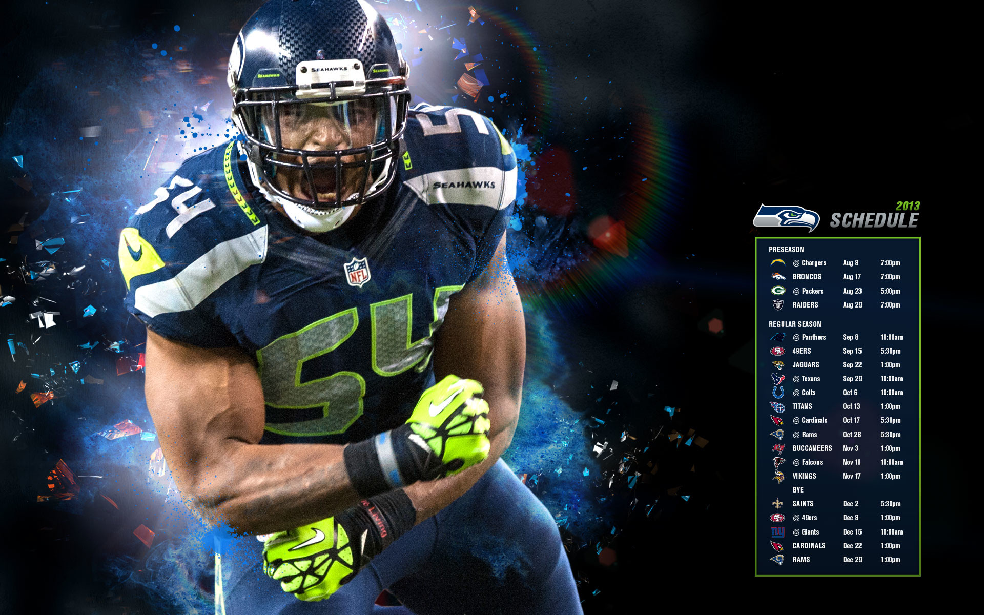Seattle Seahawks Wallpaper 2013
