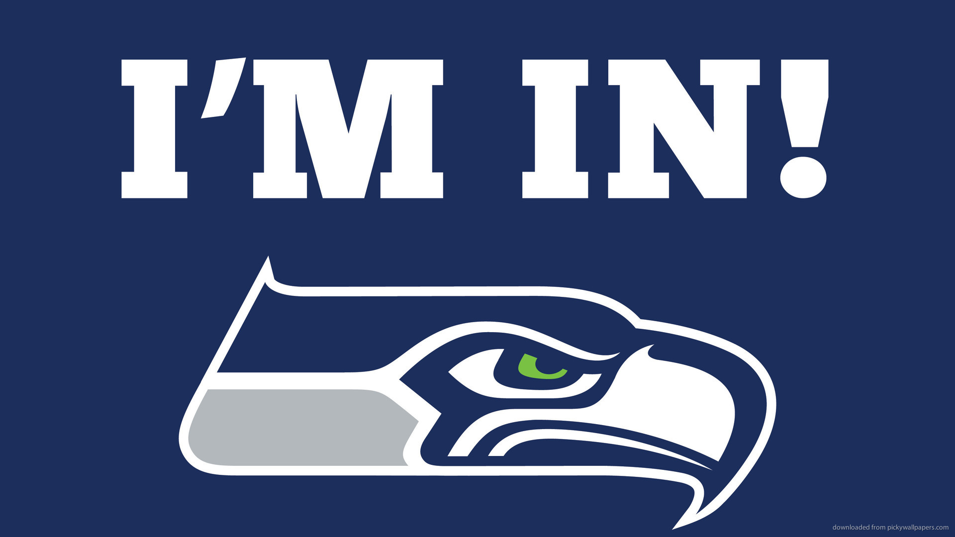Seattle Seahawks Logo I'm In picture