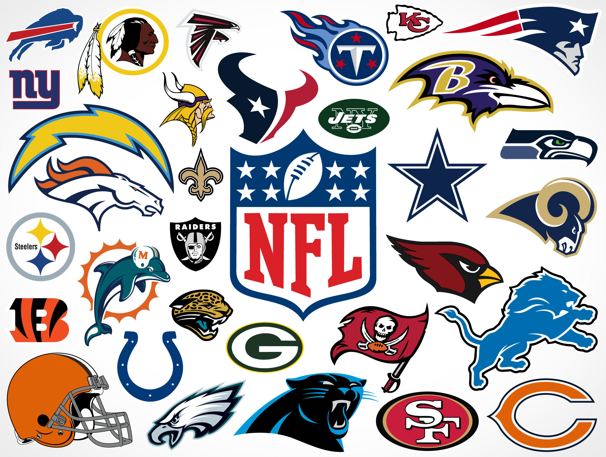 Cool NFL Wallpapers Teams Logo 2122×1600