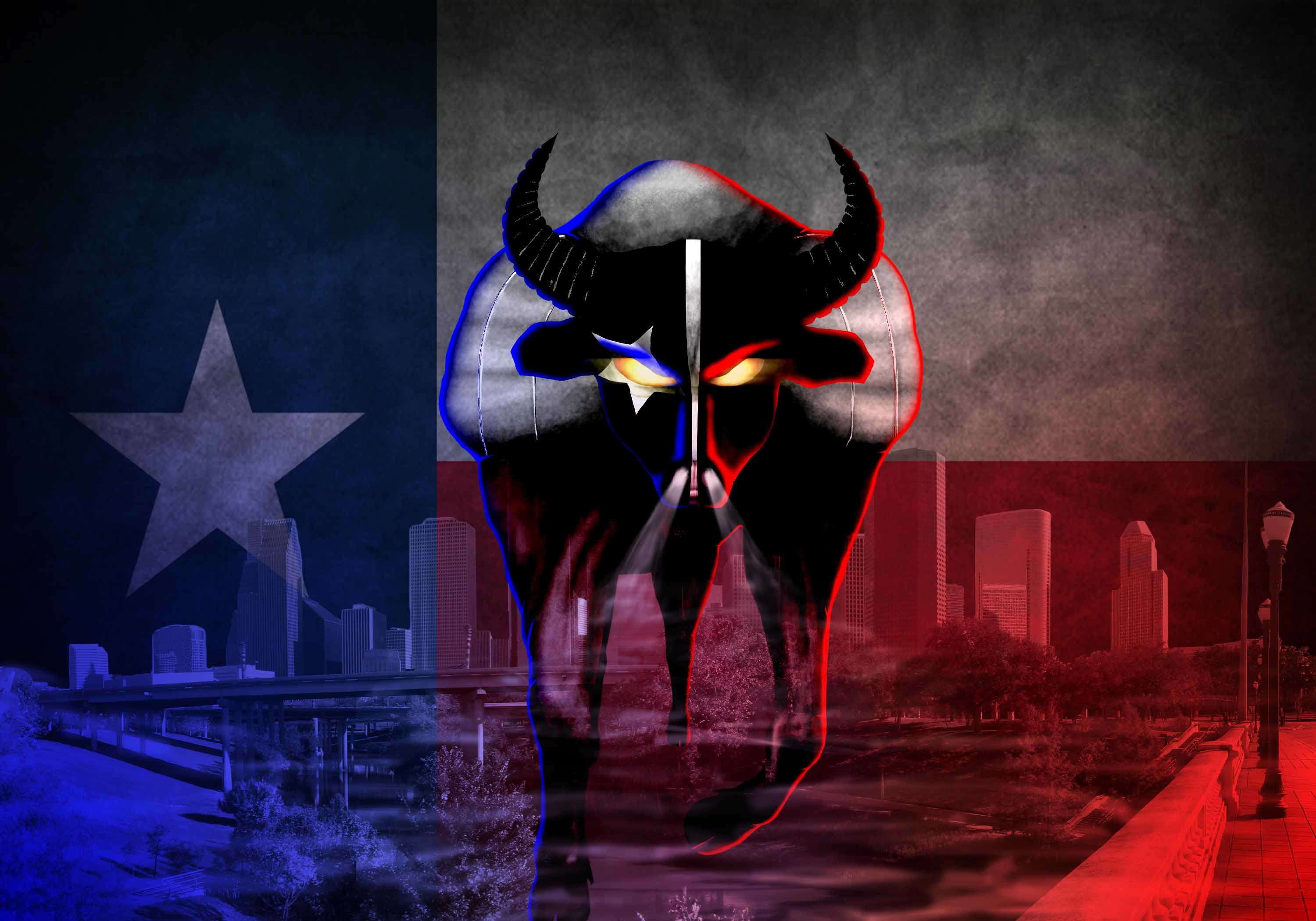 Houston Texans 2014 NFL Bull Wallpaper Wide or HD | Sports Wallpapers