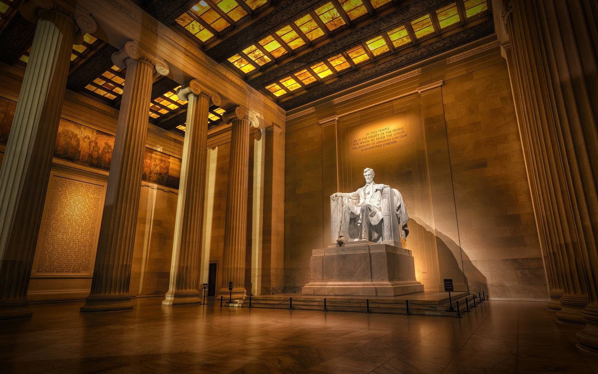 Lincoln Memorial Wallpaper – Viewing Gallery