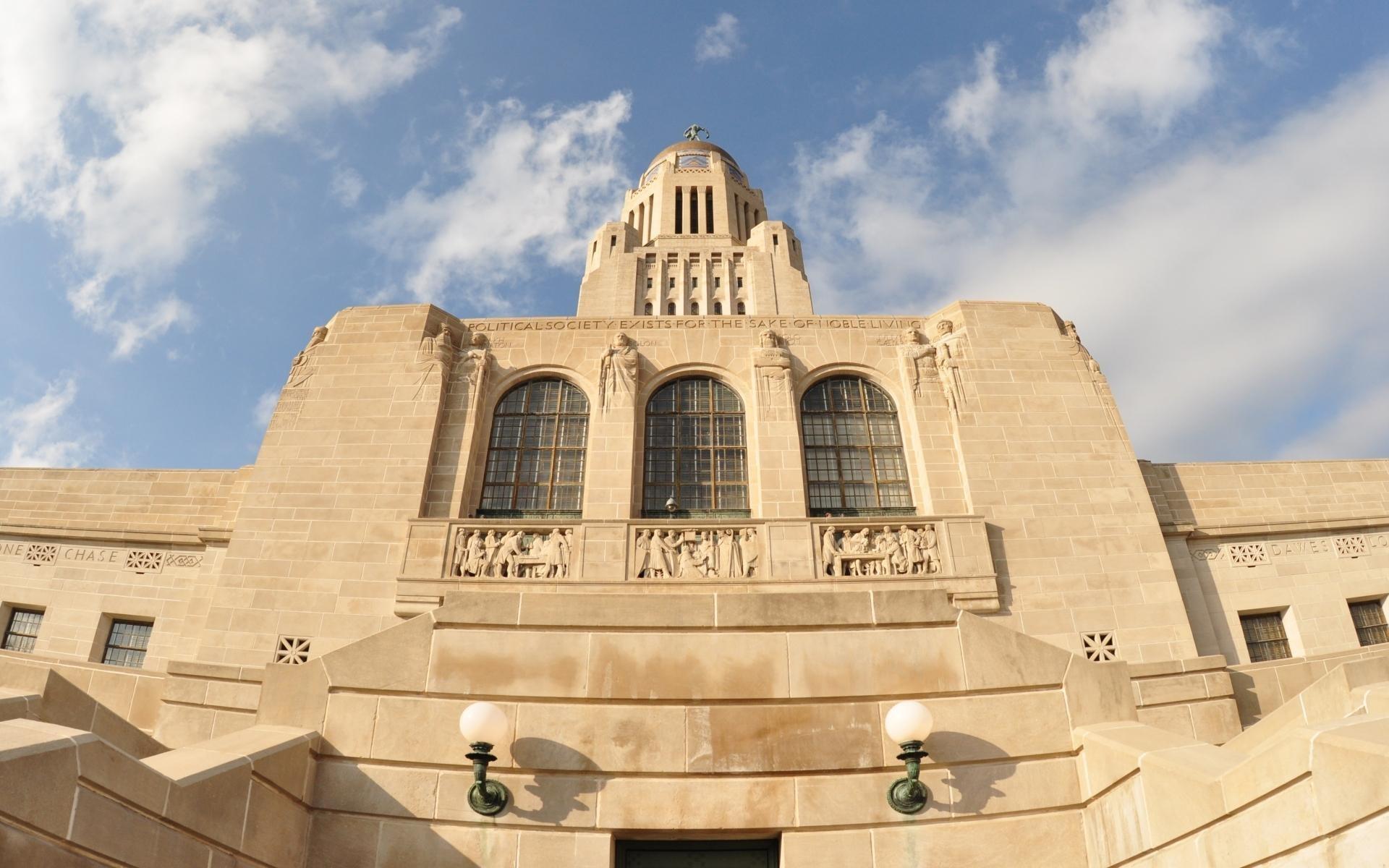 Nebraska State Capitol front side
