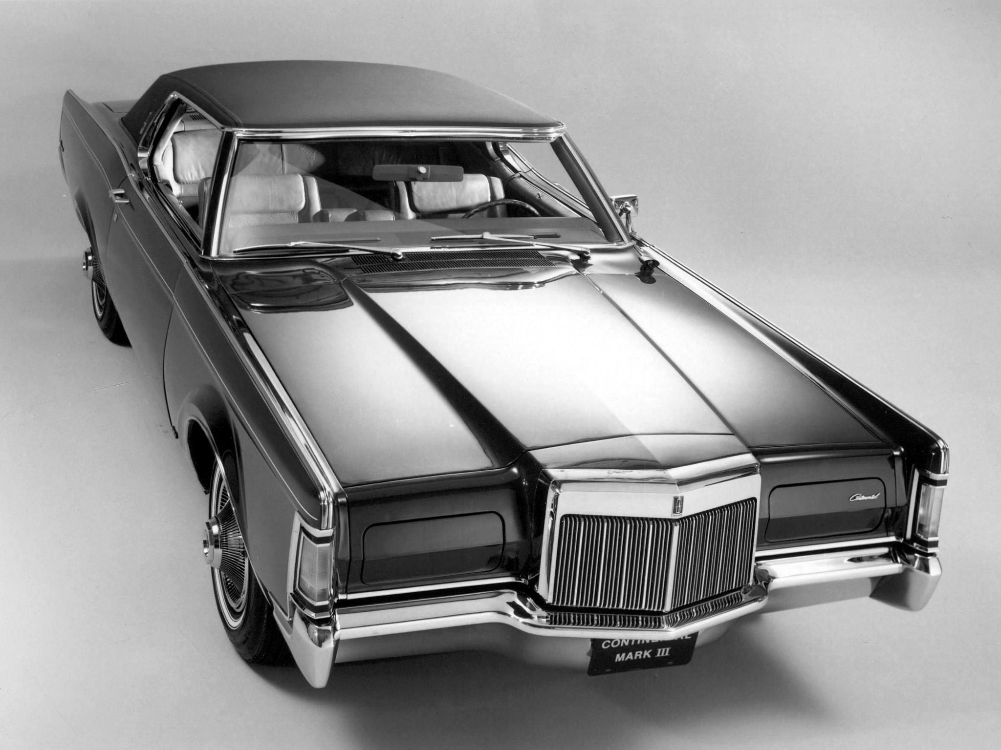 HD 1968 Lincoln Continental Mark Iii Classic Luxury Desktop Wallpaper
