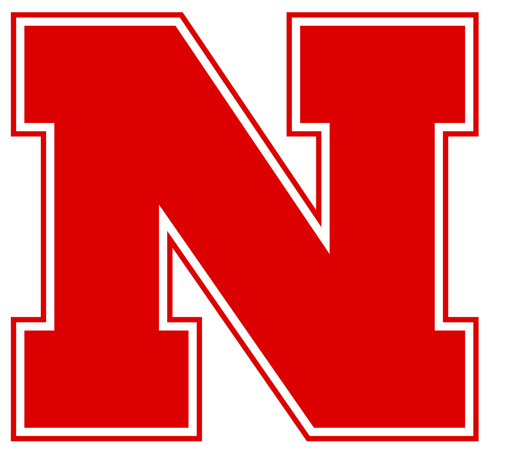 Cornhuskers, University of Nebraska–Lincoln (Lincoln, Nebraska) Div I,  Conf: Big Ten