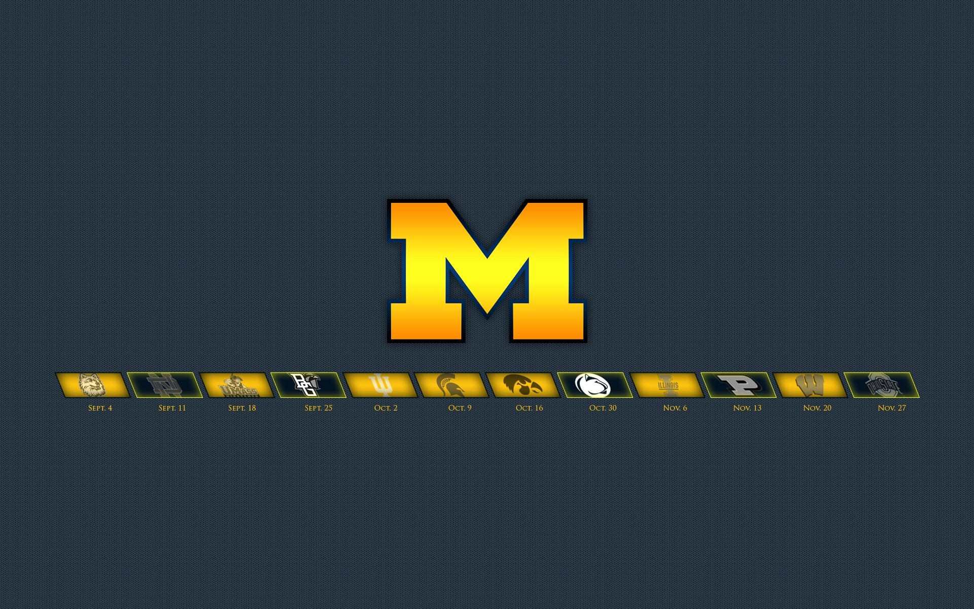 Michigan Wolverines Football Wallpapers (61 Wallpapers)